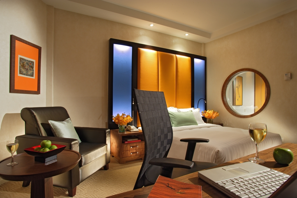 Deluxe Room | Photo Credit: Orchard Hotel Singapore