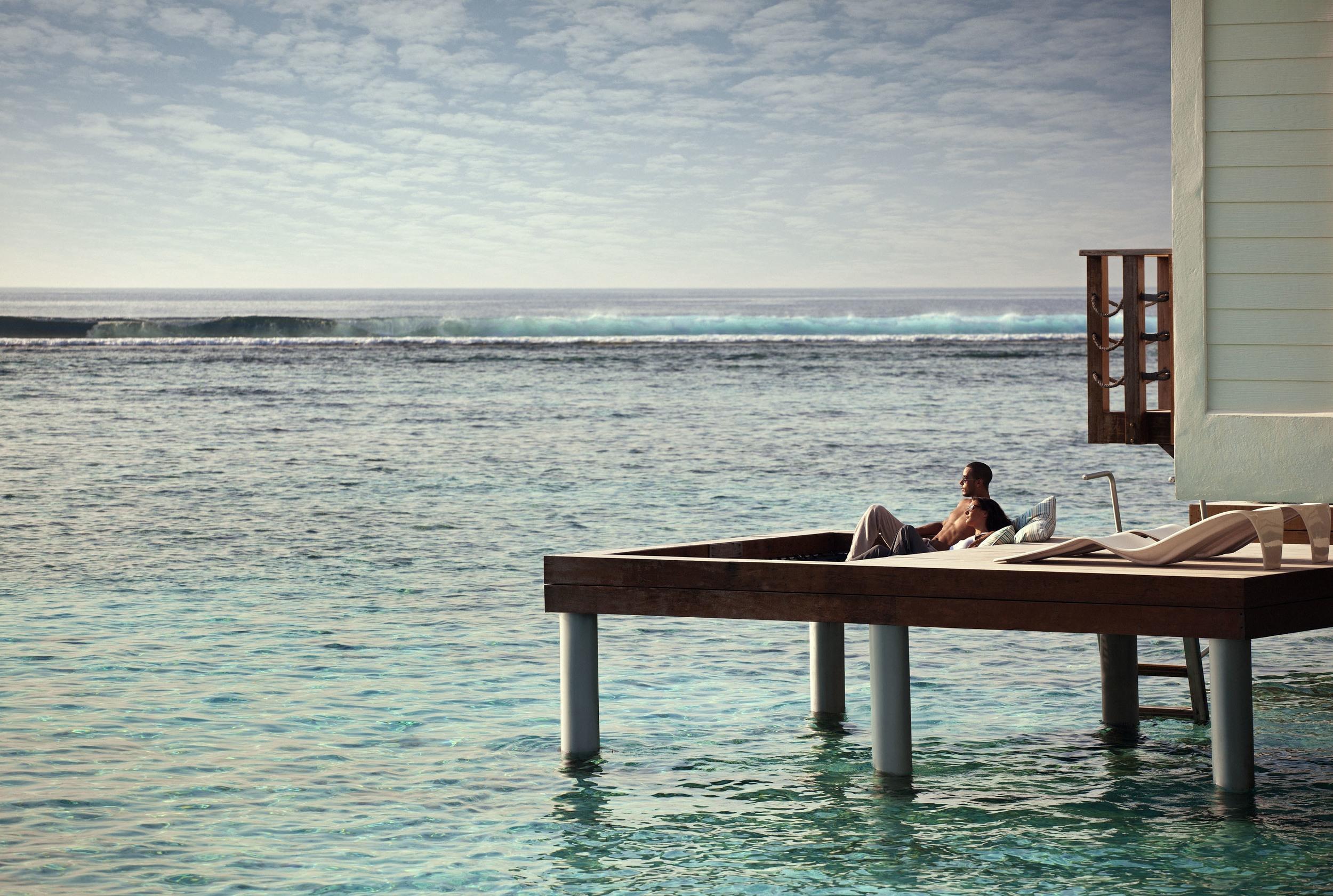 Private Sun Deck atHoliday Inn Resort Kandooma Maldives | Photo Credit: InterContinental Hotels Group
