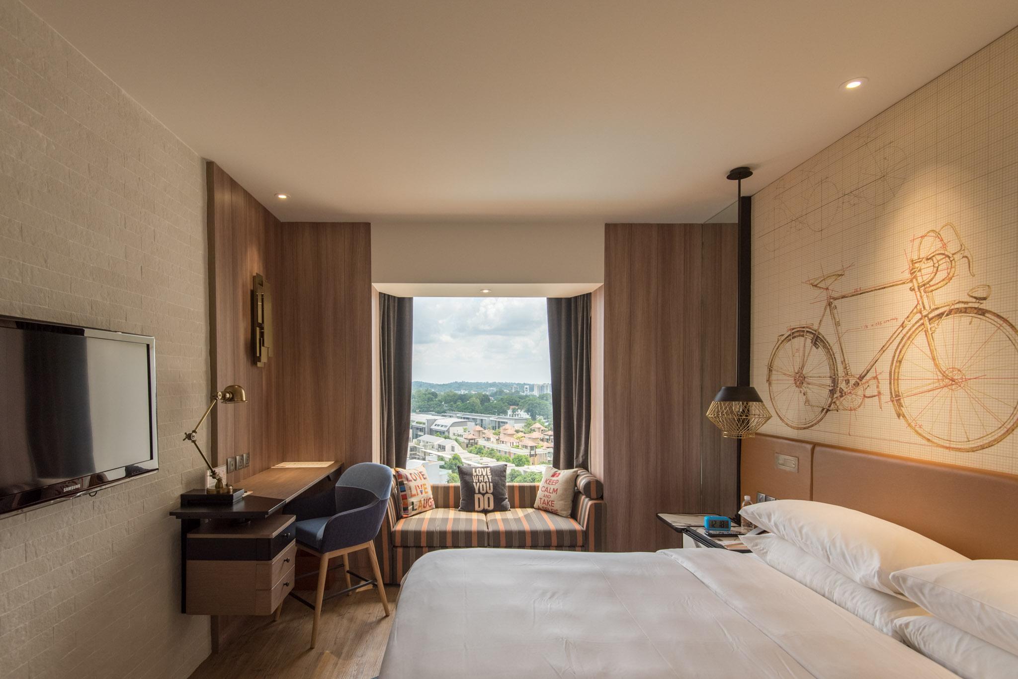 RefurbishedClub Rooms (Hotel Jen Tanglin)
