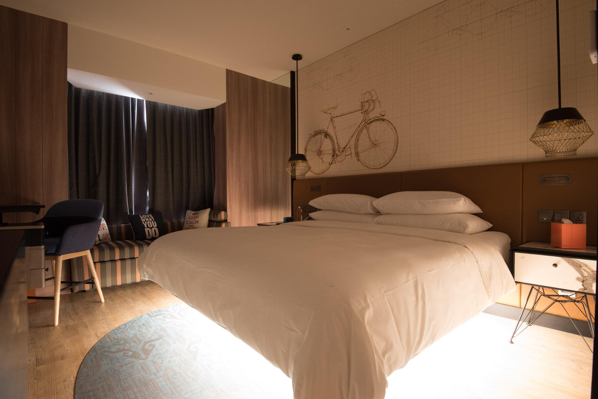 Take-off Feature in Hotel Jen Tanglin