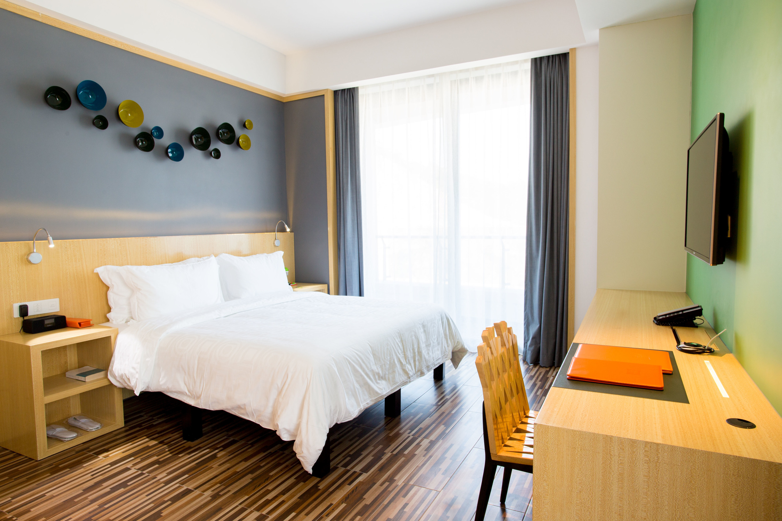 Guest Room | Photo Credit: ibis Styles Huizhou Xunliao Bay