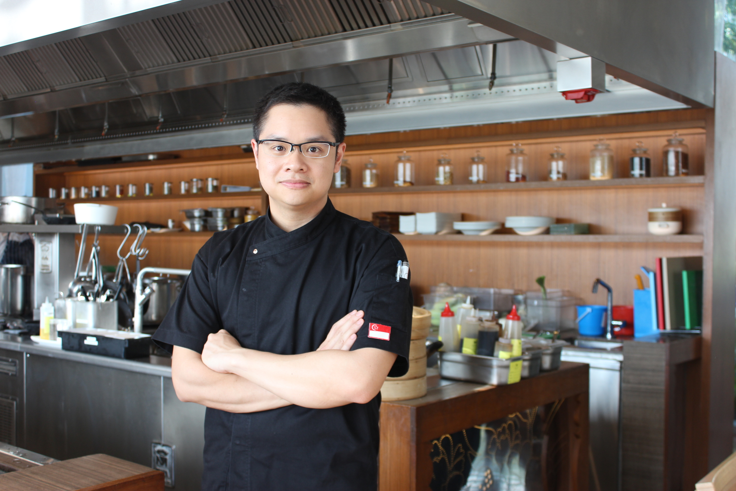 Chef Malcolm | Photo Credit: W Singapore Sentosa Cove