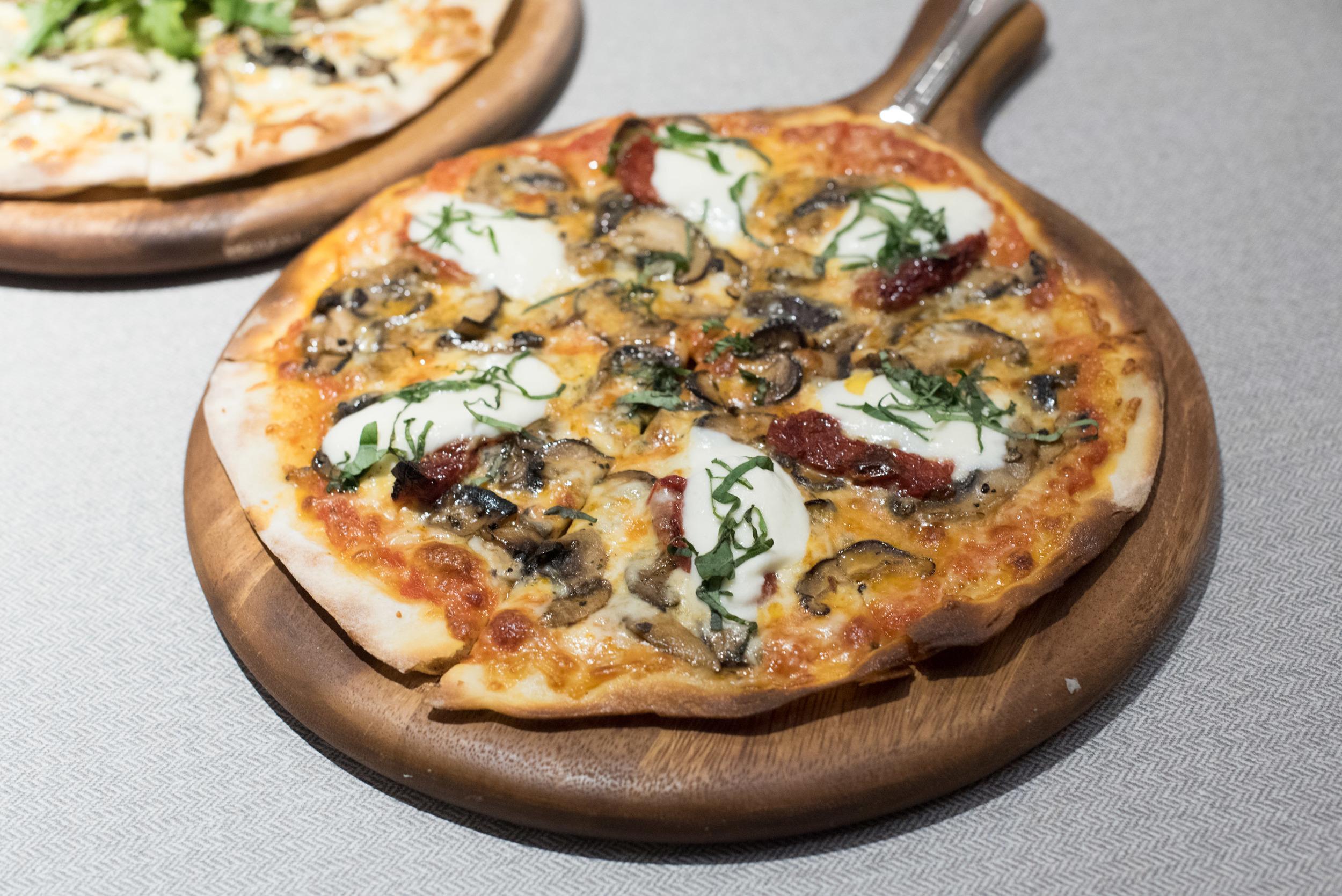 Tomato and Mozzarella Pizza