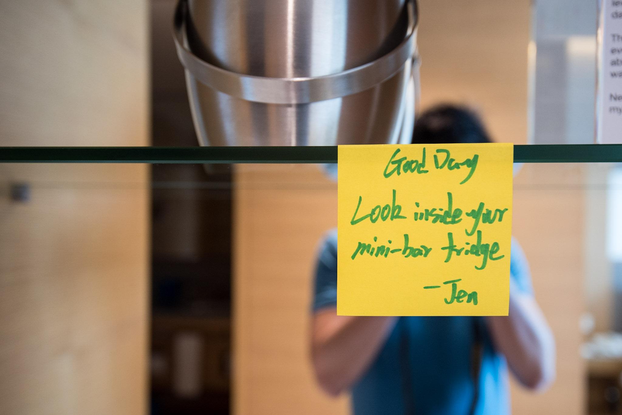 A Note from Jen - Hotel Jen Orchardgateway Singapore