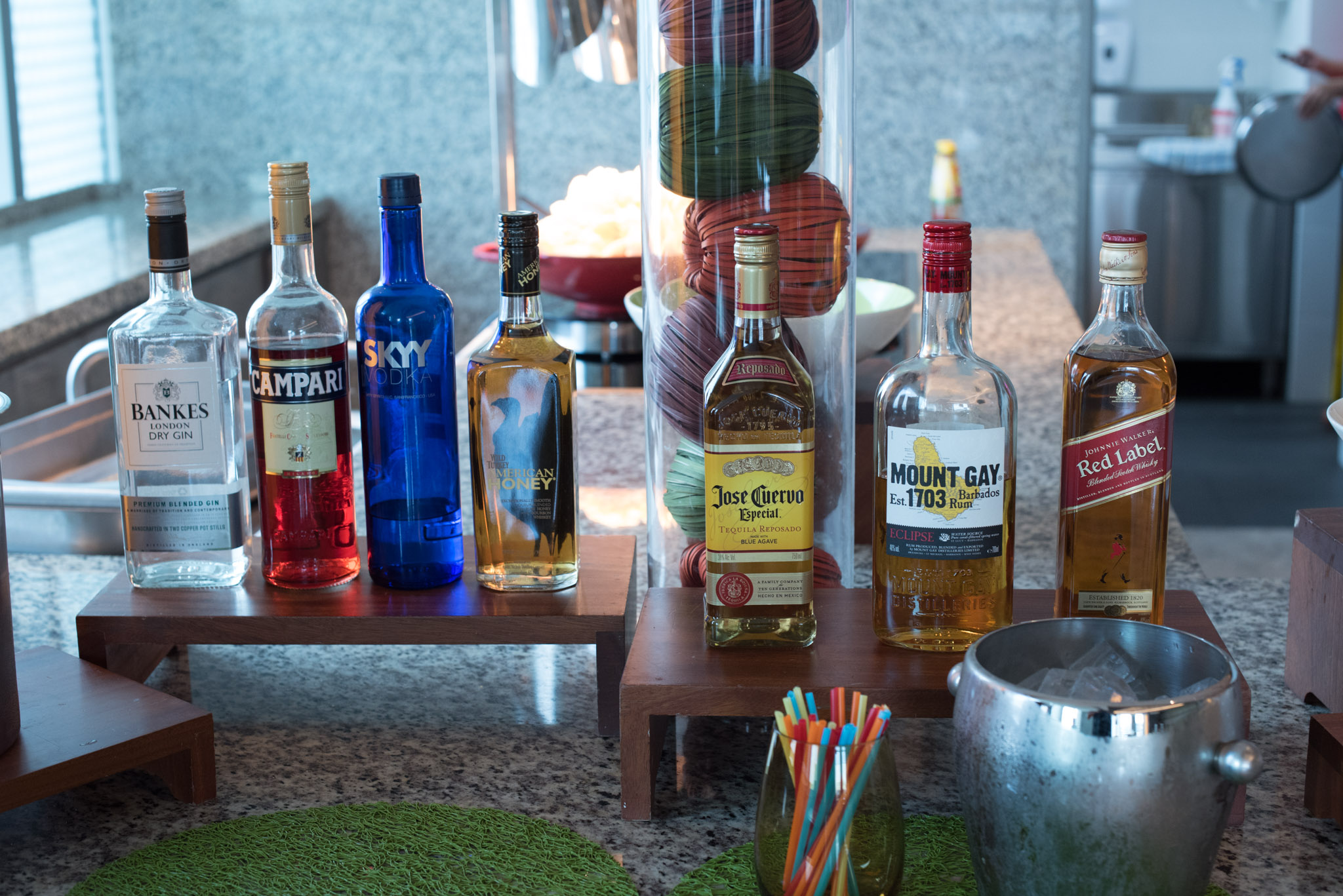 Complimentary Alcoholic Drinks at the Club Lounge - Hotel Jen Orchardgateway Singapore