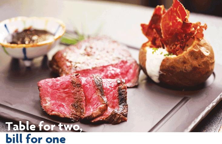 1-for-1 Dining Deals with UOB Credit Cards   Photo Credit: UOB