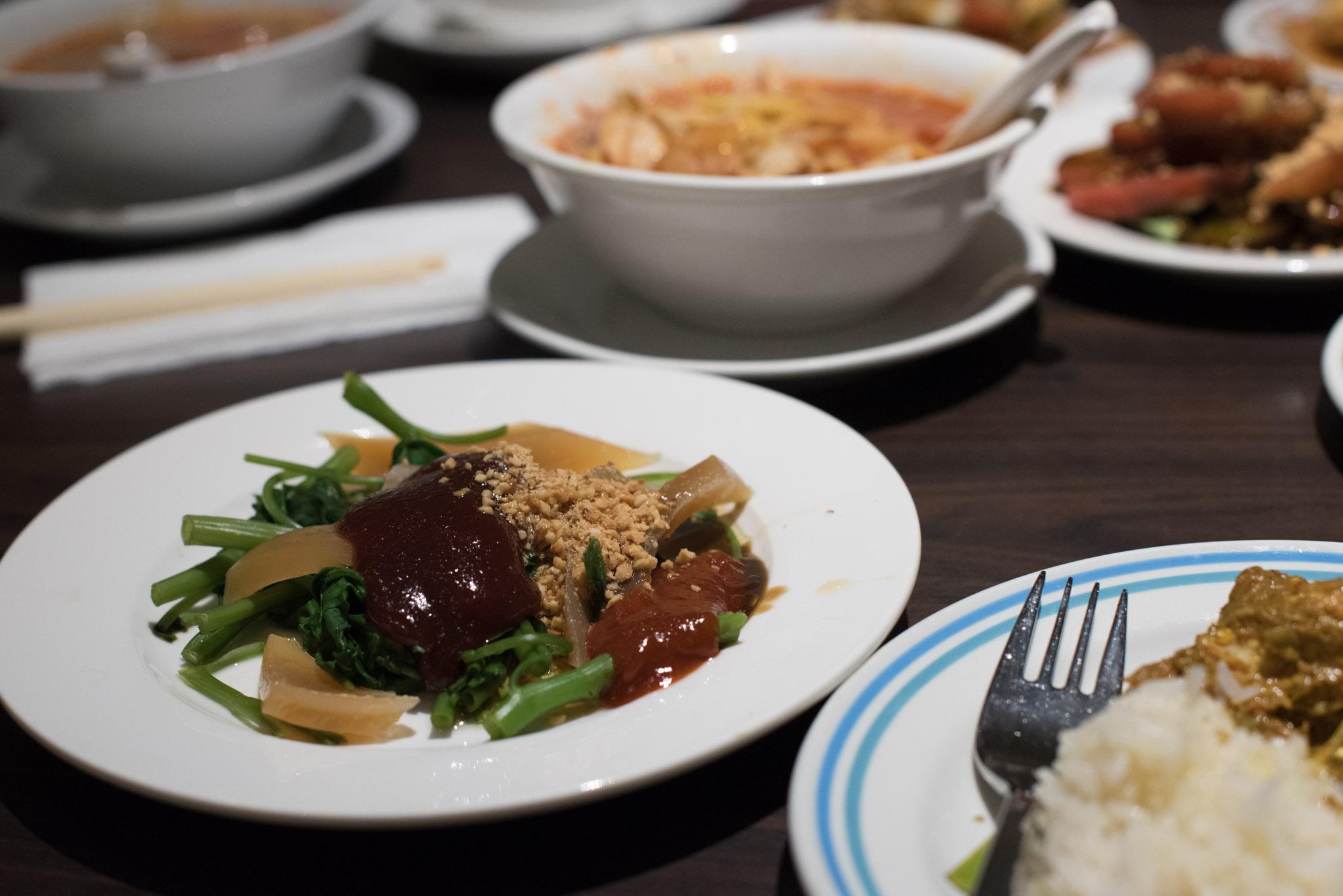 Cuttlefish Kang Kong Penang Hawkers' Fare - York Hotel