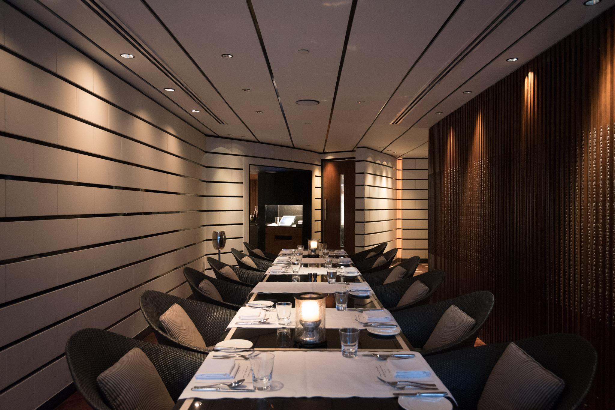 Private Dining Room   Basilico - Regent Singapore