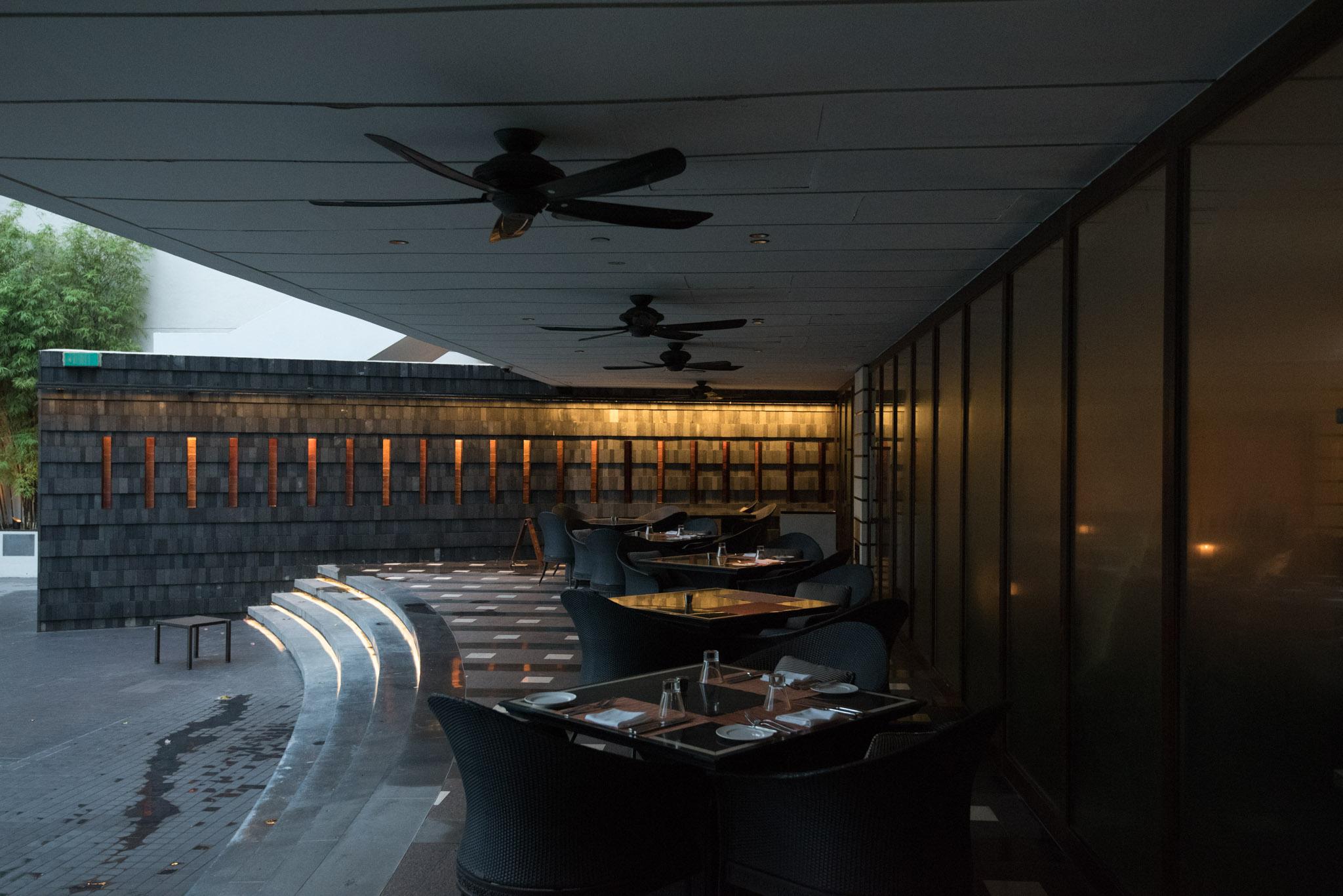 Outdoor Seating  Basilico - Regent Singapore