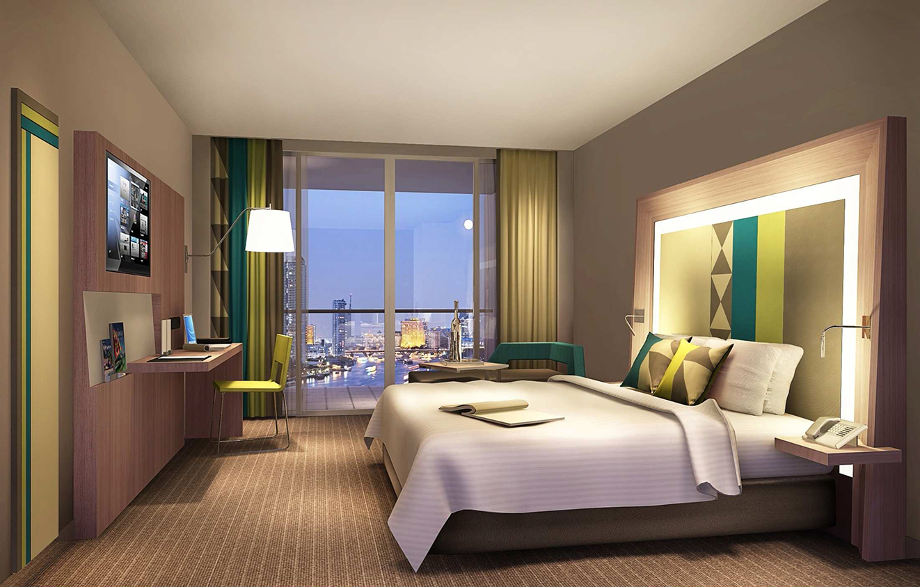 Superior Room | Photo Credit: Novotel Manila Araneta Center