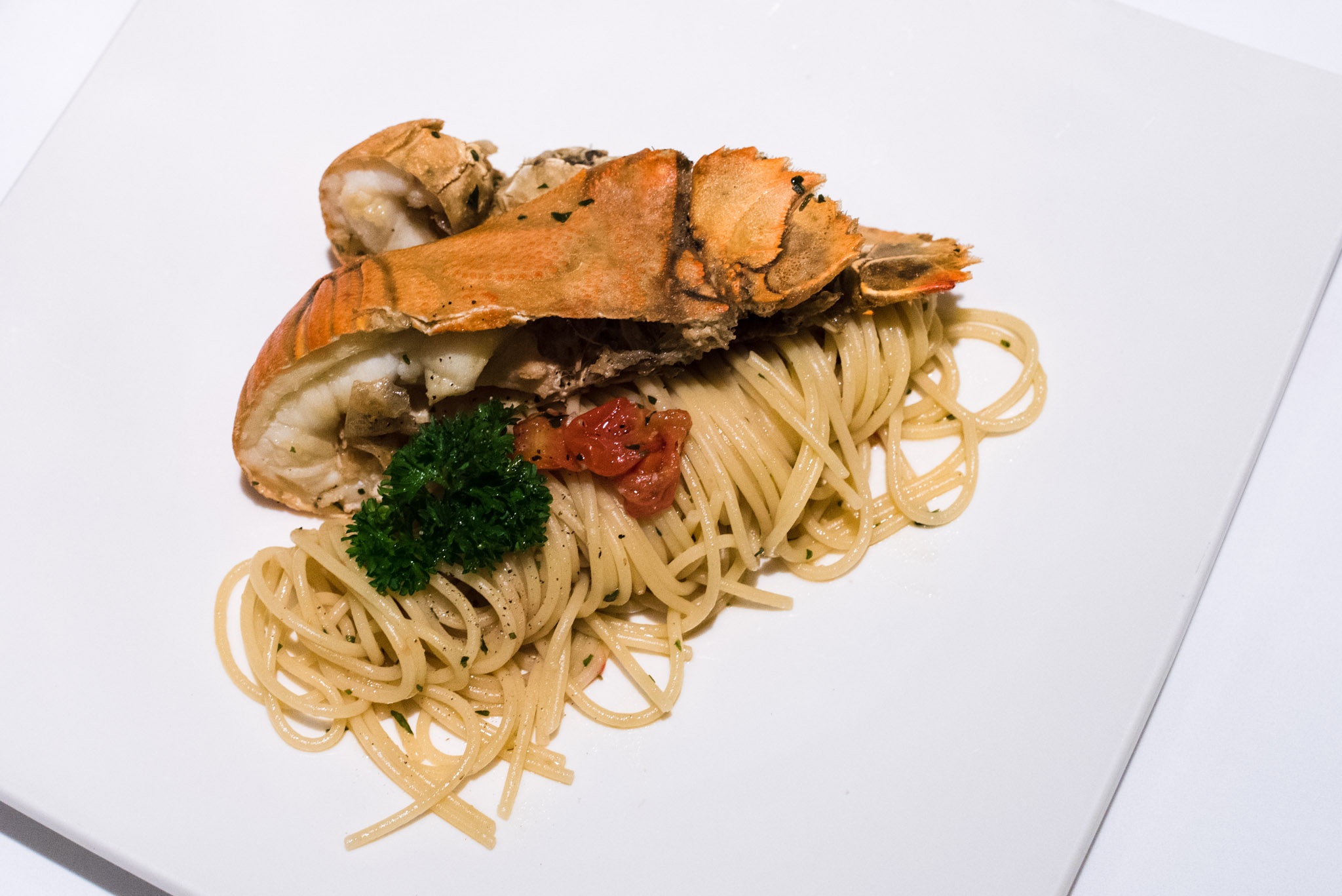 Crayfish Capellini  DOMVS, The Italian Restaurant - Sheraton Towers Singapore