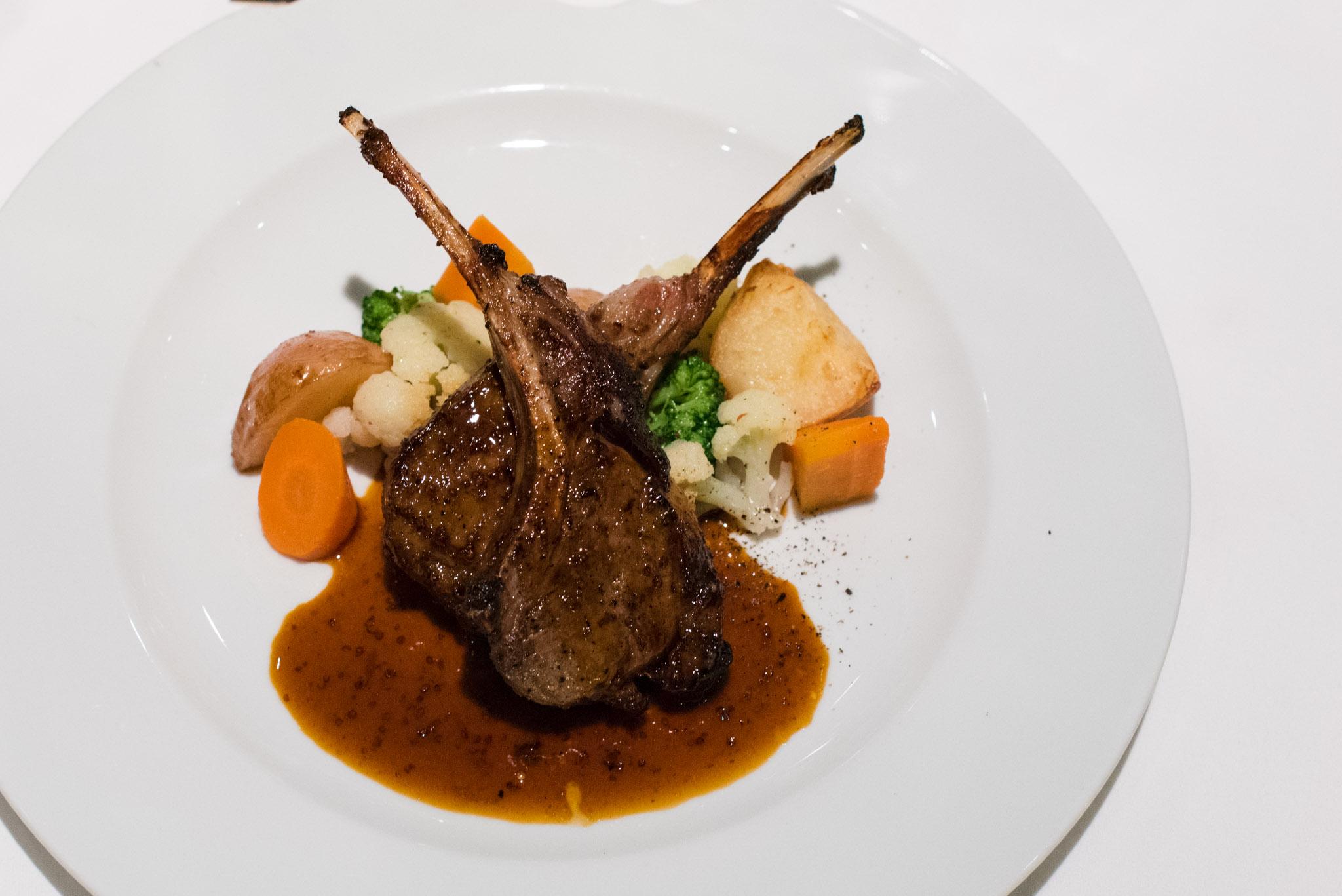 Lamb Chops  DOMVS, The Italian Restaurant - Sheraton Towers Singapore