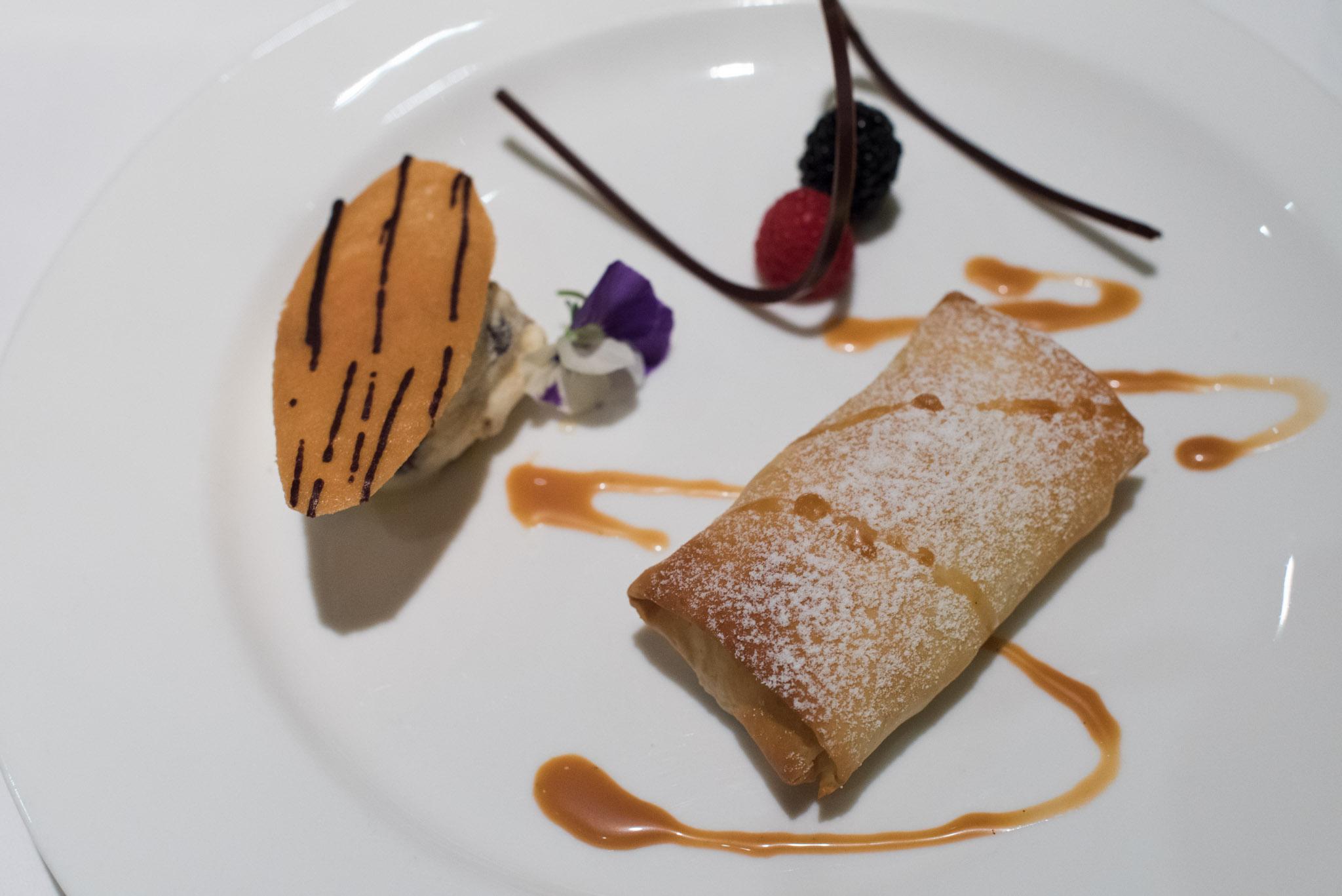 Banana Strudel  DOMVS, The Italian Restaurant - Sheraton Towers Singapore