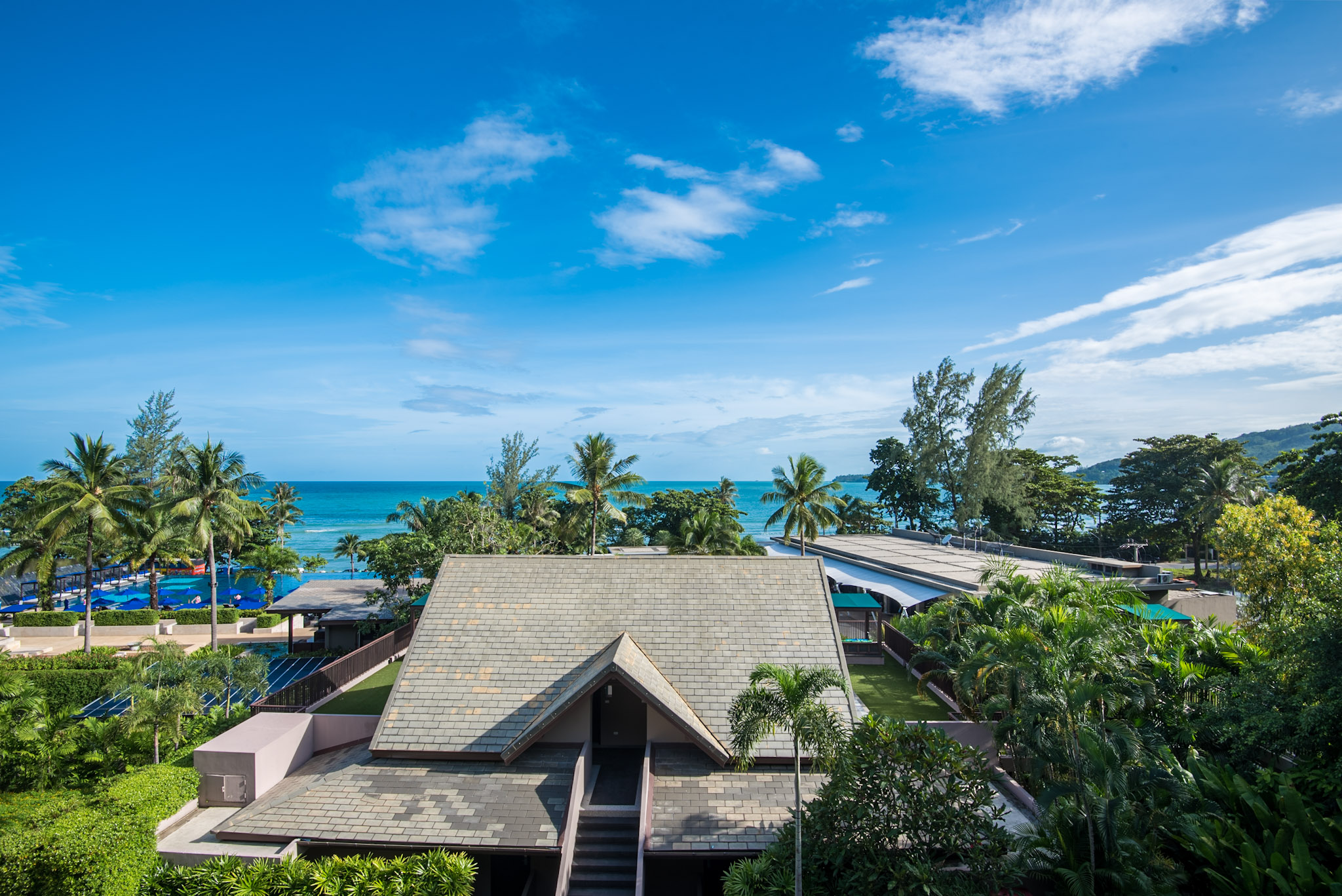 View from Bedroom  Deluxe Two Bedroom - Hyatt Regency Phuket Resort