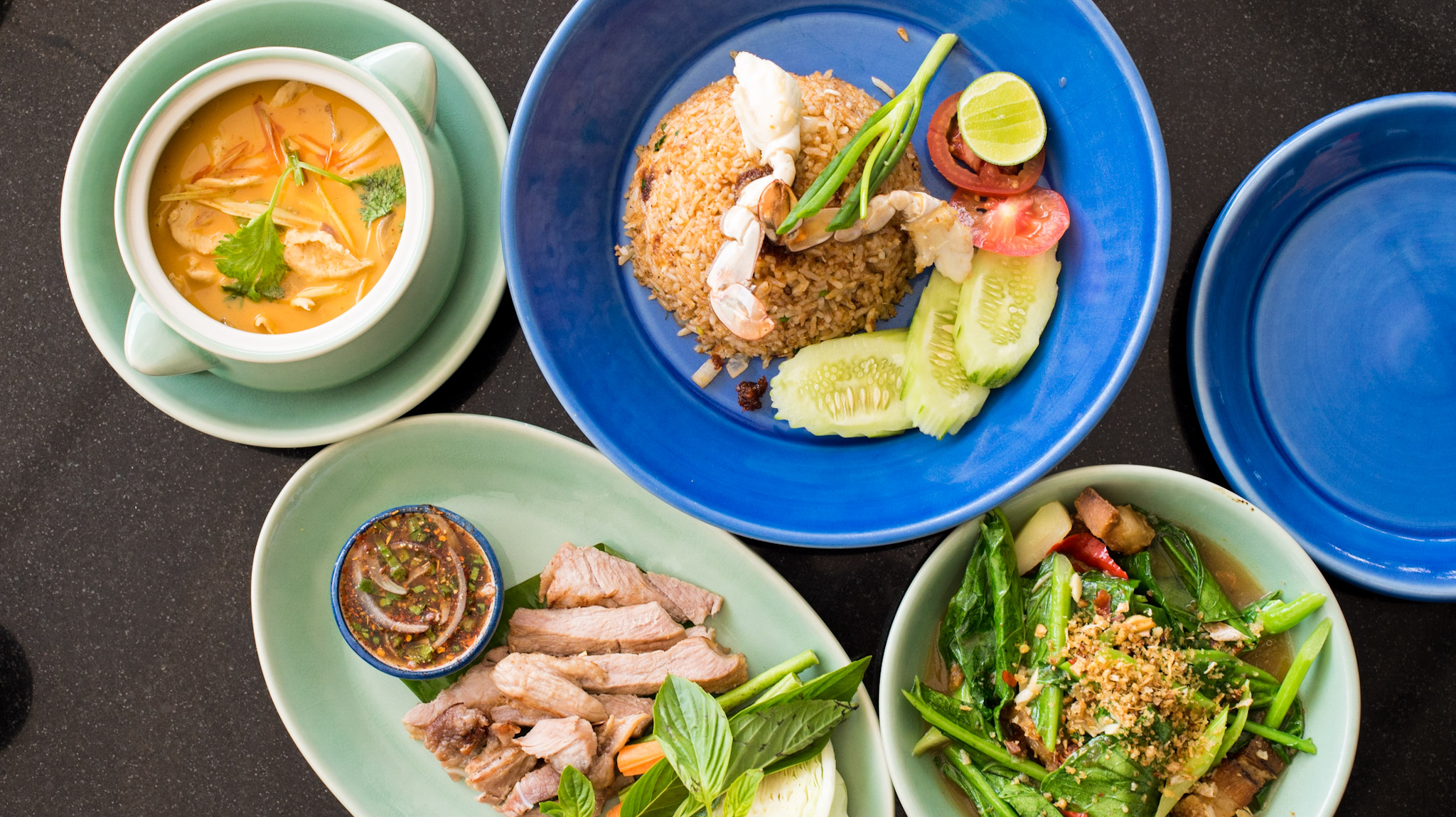 Delicious Thai Food The Pool House - Hyatt Regency Phuket Resort