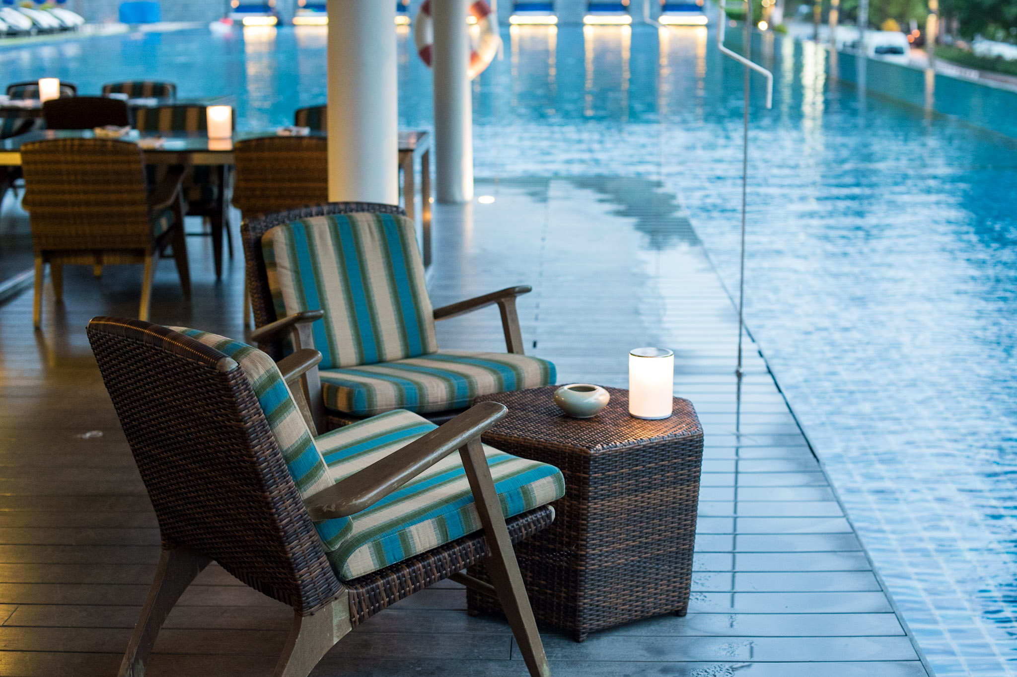 Table for Two with a View  The Pool Bar -Hyatt Regency Phuket Resort