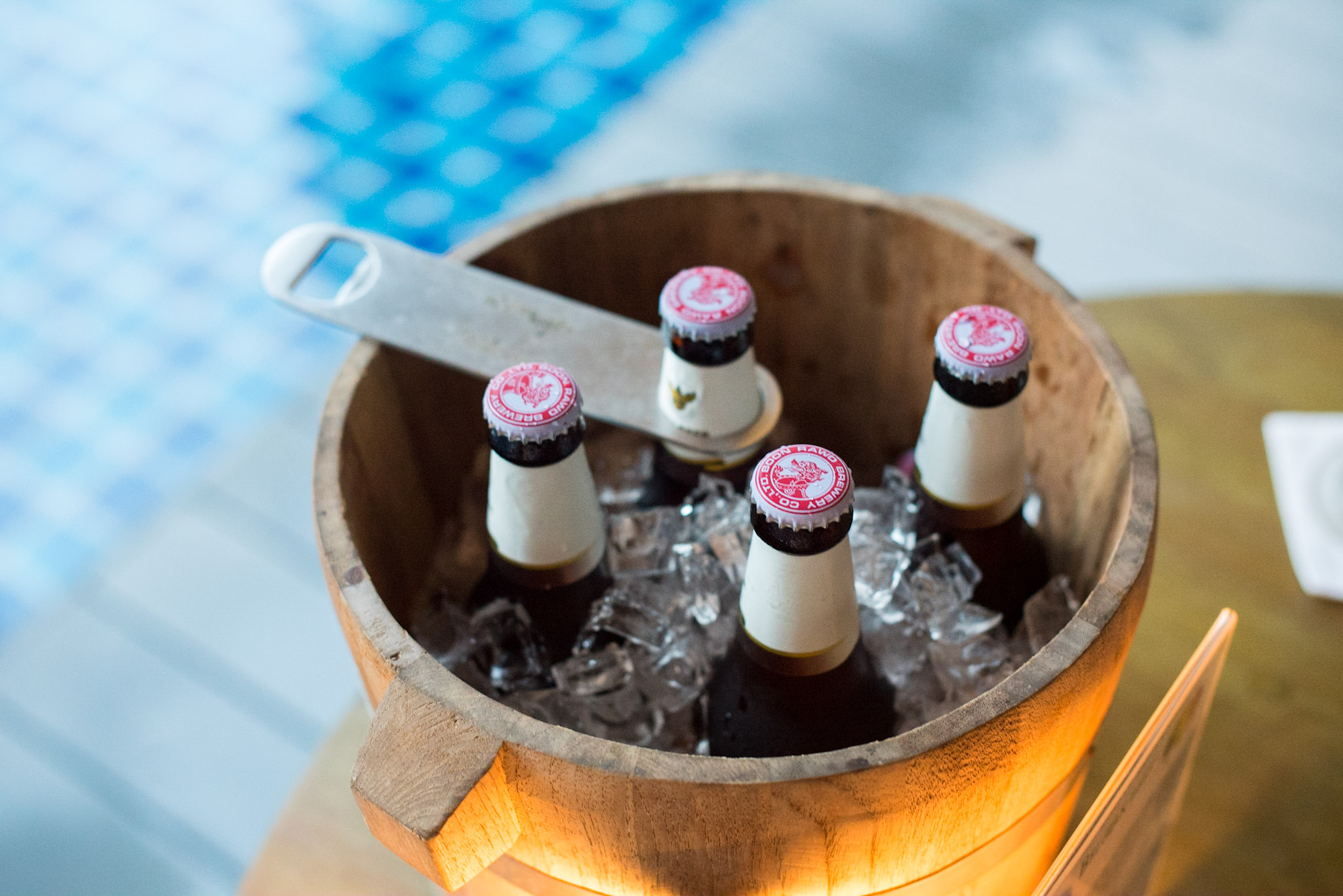 Beer Bucket of Five (THB 500++) The Pool Bar - Hyatt Regency Phuket Resort