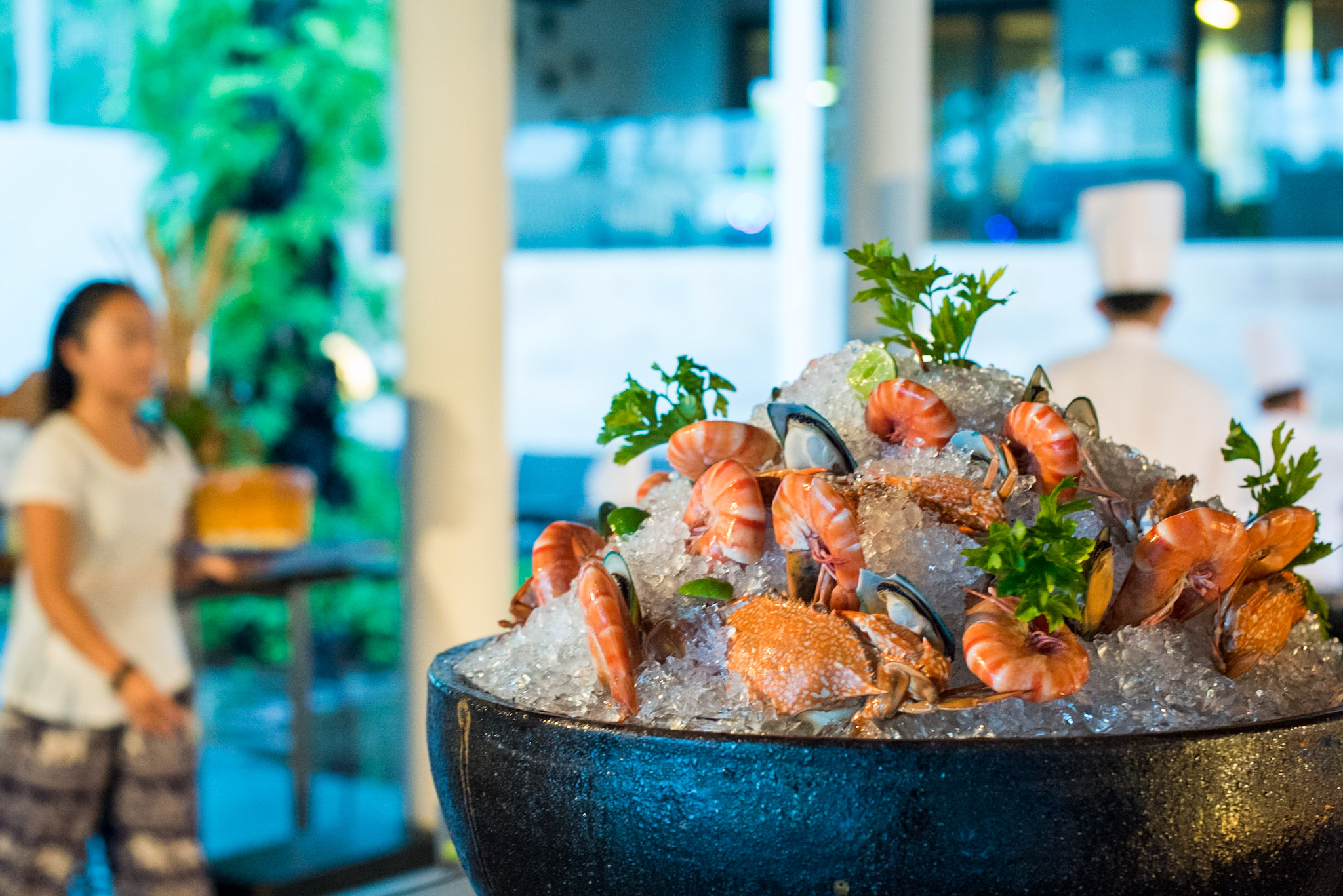 BBQ at Pool Bar (THB 780++ per Adult) The Pool Bar - Hyatt Regency Phuket Resort
