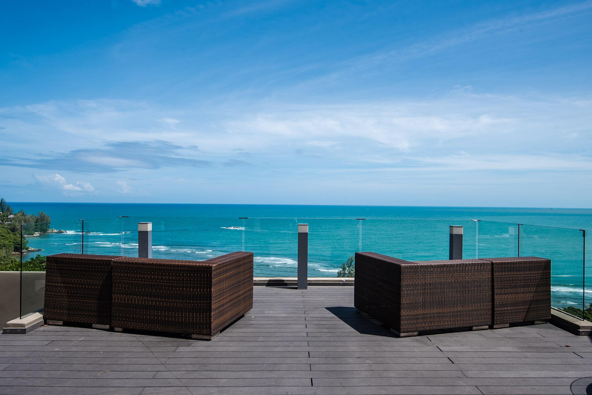 View from Sunset Grill The Pool Bar - Hyatt Regency Phuket Resort