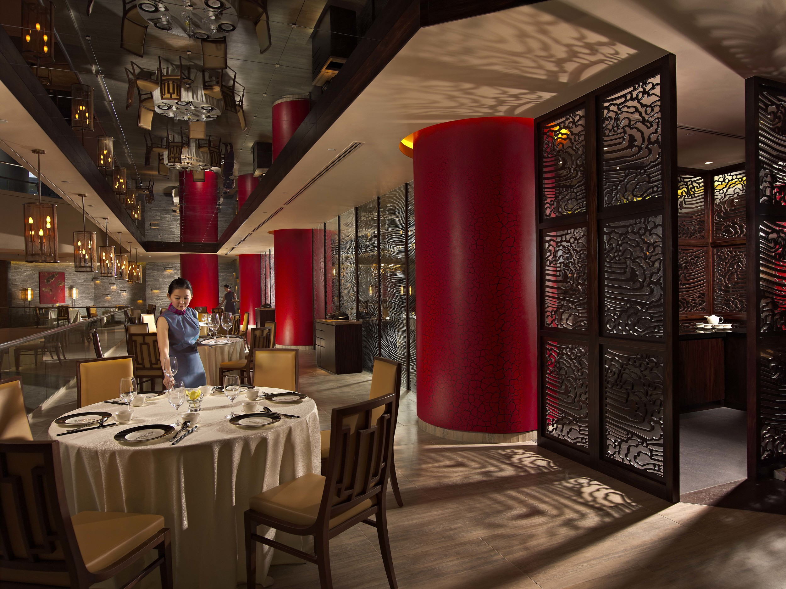 Main Dining Area of Hai Tien Lo | Photo Credit: Pan Pacific Singapore