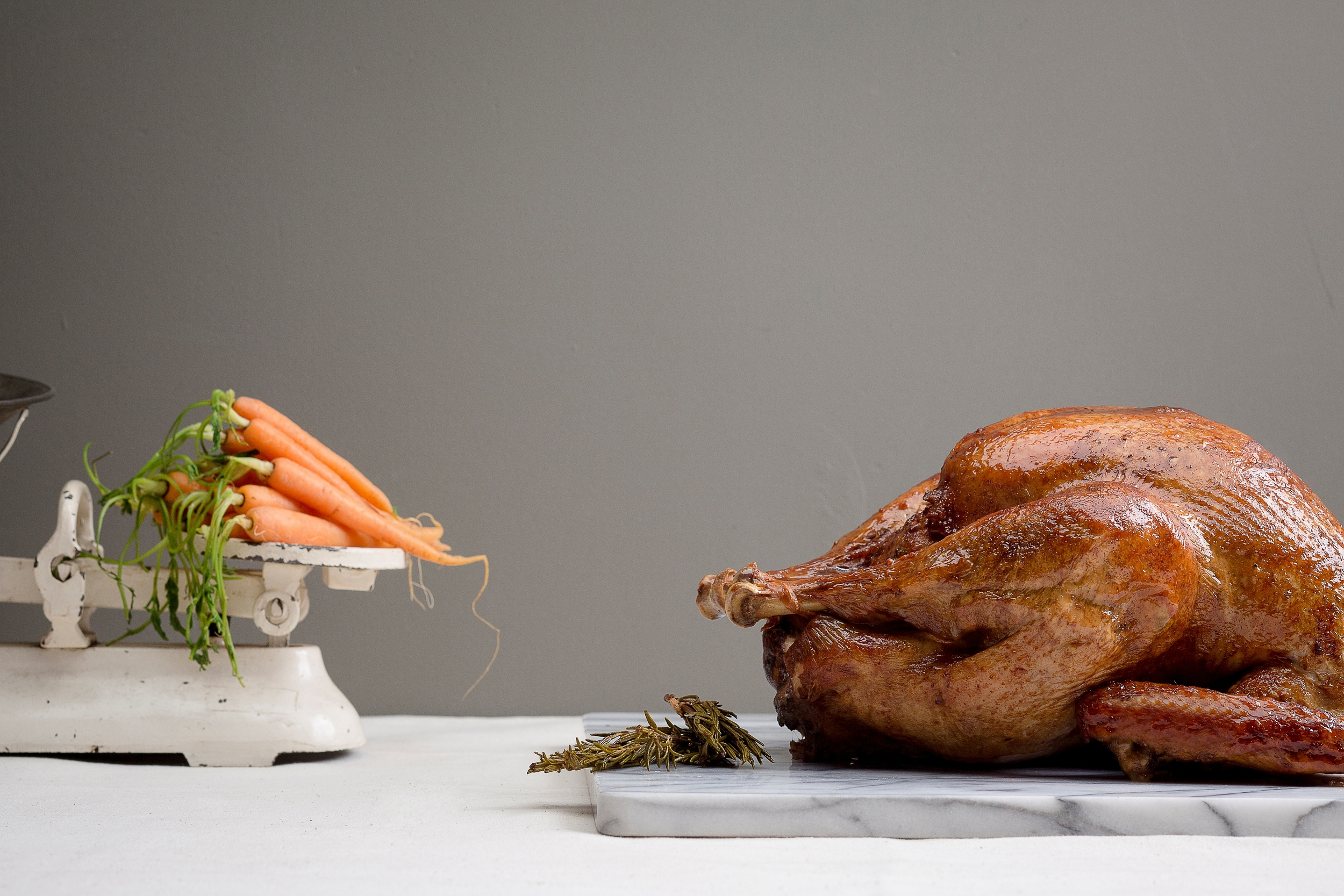 Manuka Wood-Smoked Tom Turkey | Photo Credit:  InterContinental Singapore