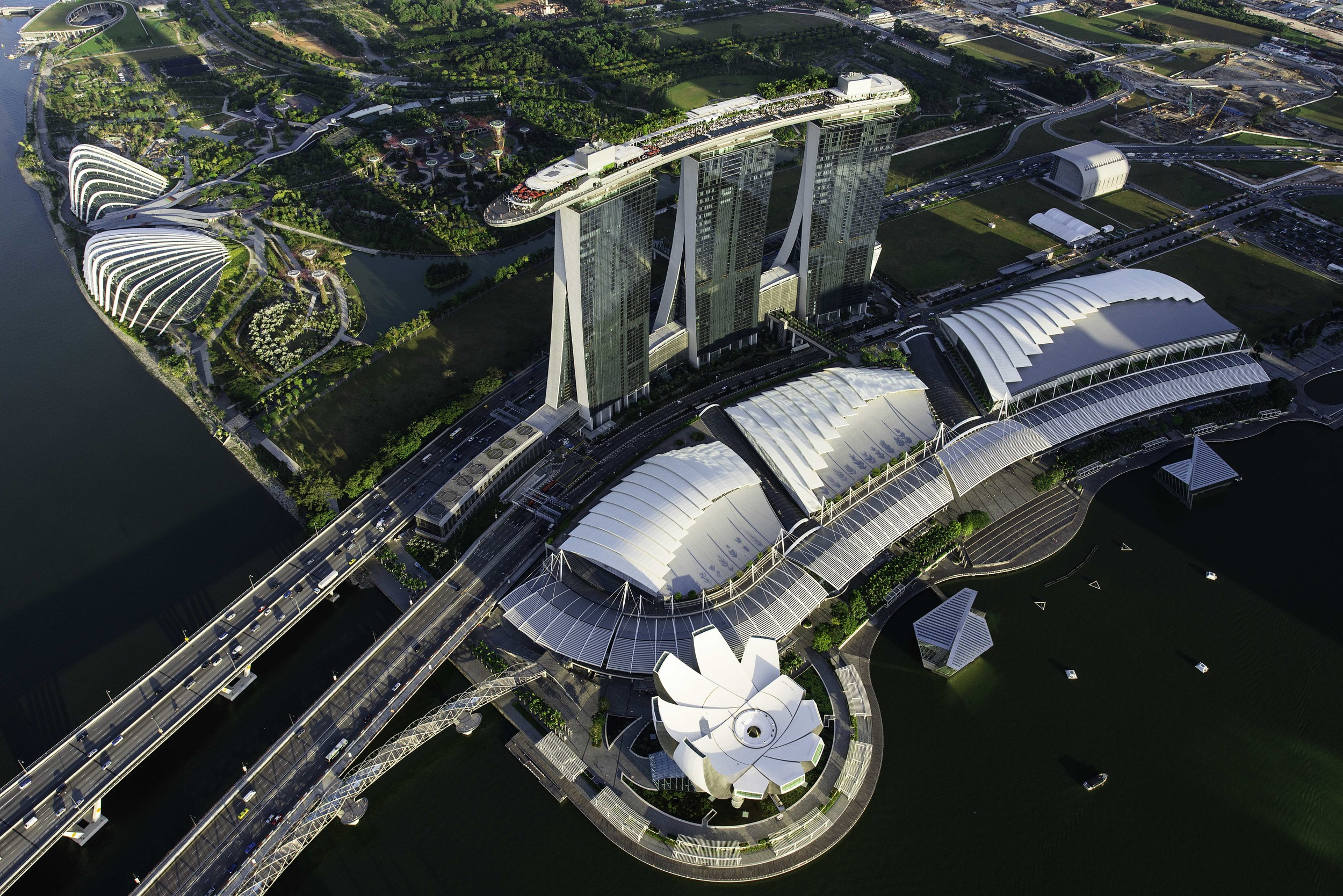 View from the Top | Photo Credit: Marina Bay Sands
