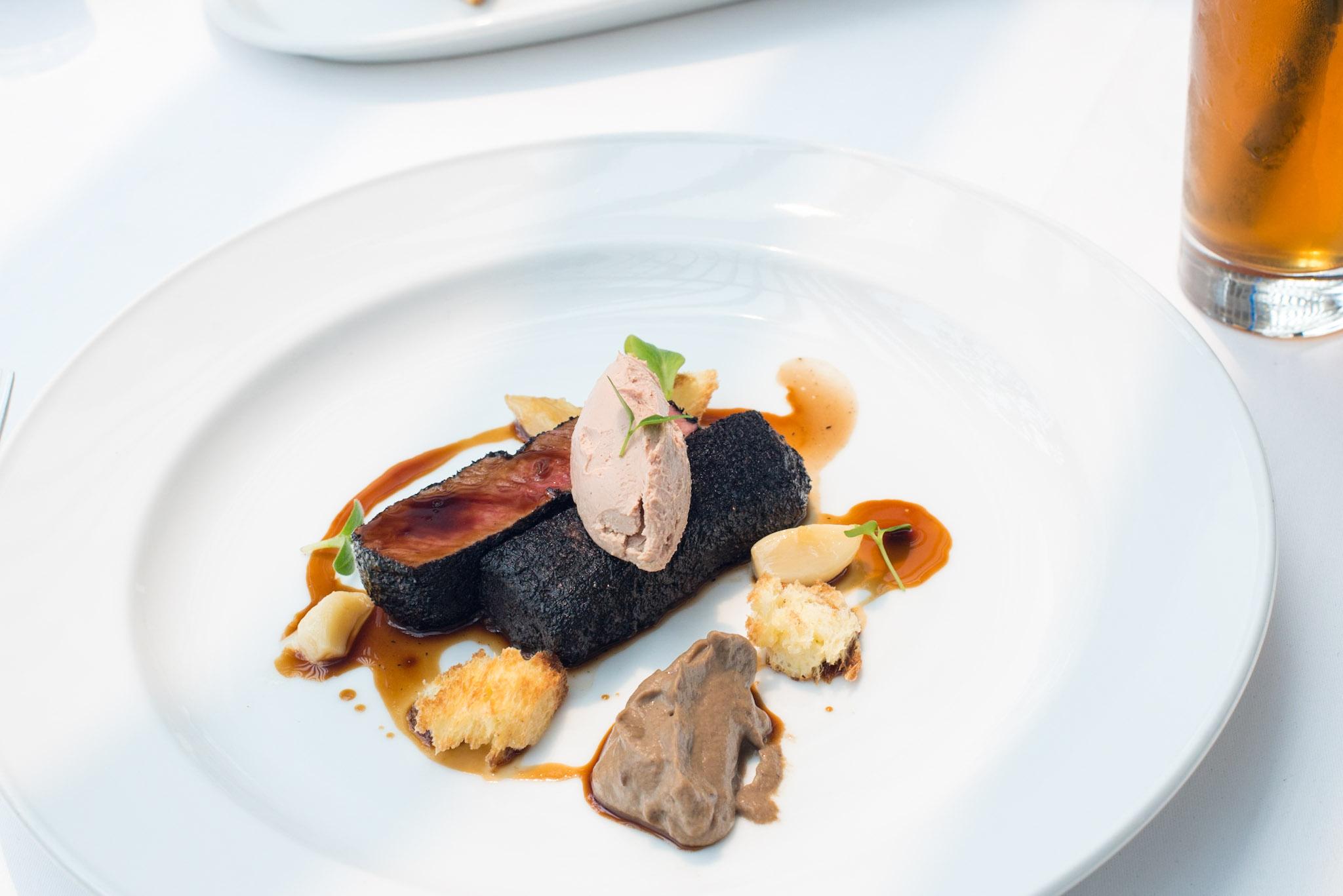Seared Lamb Loin  (S$46++) Pool Grill - Singapore Marriott Tang Plaza Hotel