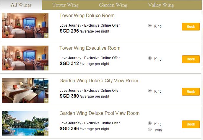 Love Journey Offer - Shangri-La Hotel, Singapore