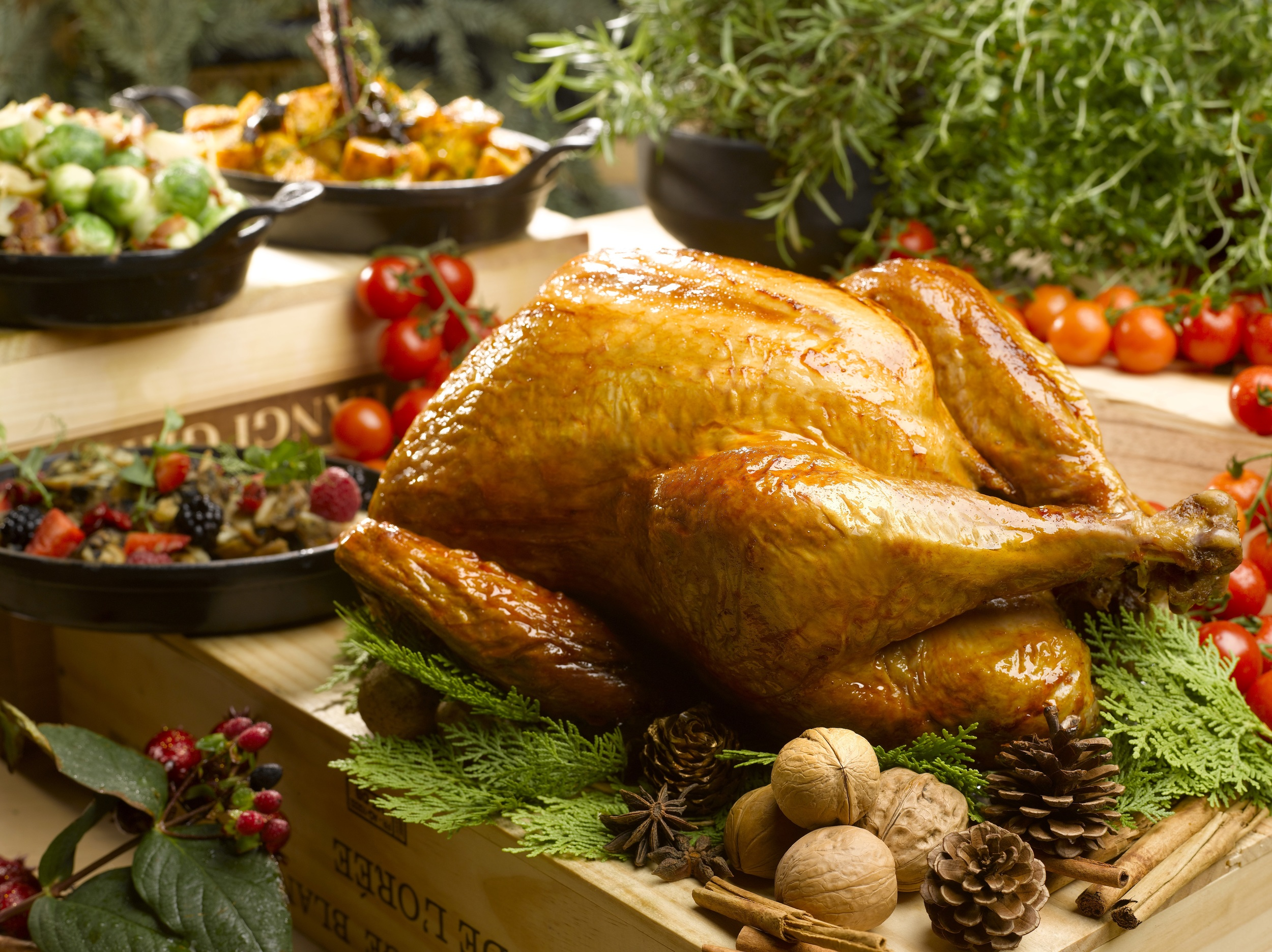 Traditional Roasted Christmas Turkey | Photo Credit: Mandarin Oriental, Singapore