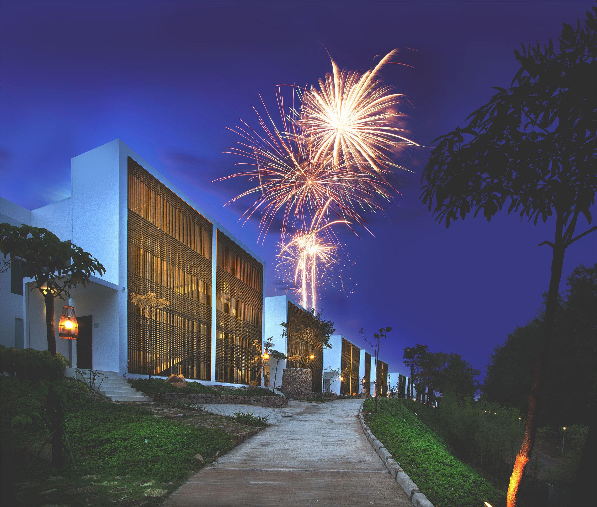 Fireworks at Montigo Resorts, Nongsa