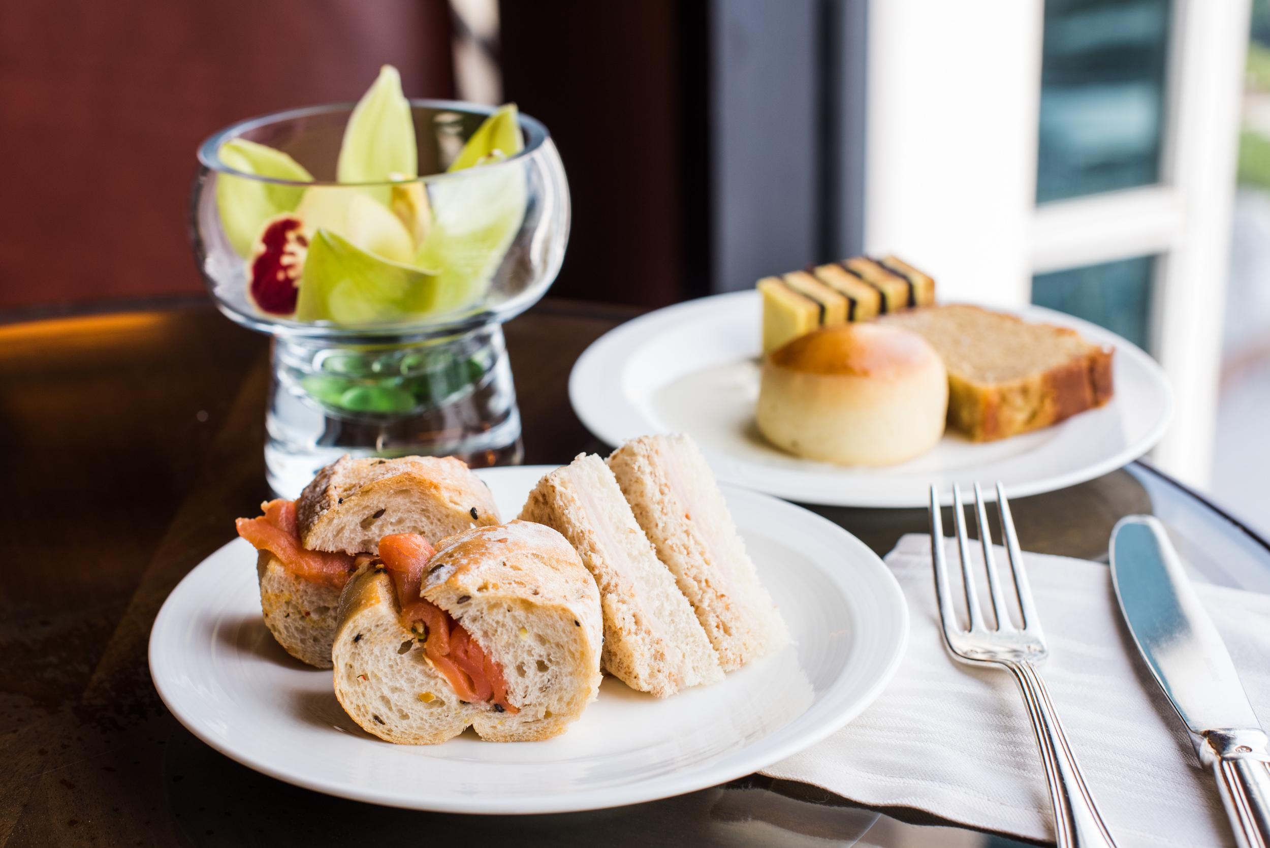 Afternoon Tea at the Executive Lounge  Conrad Centennial Singapore