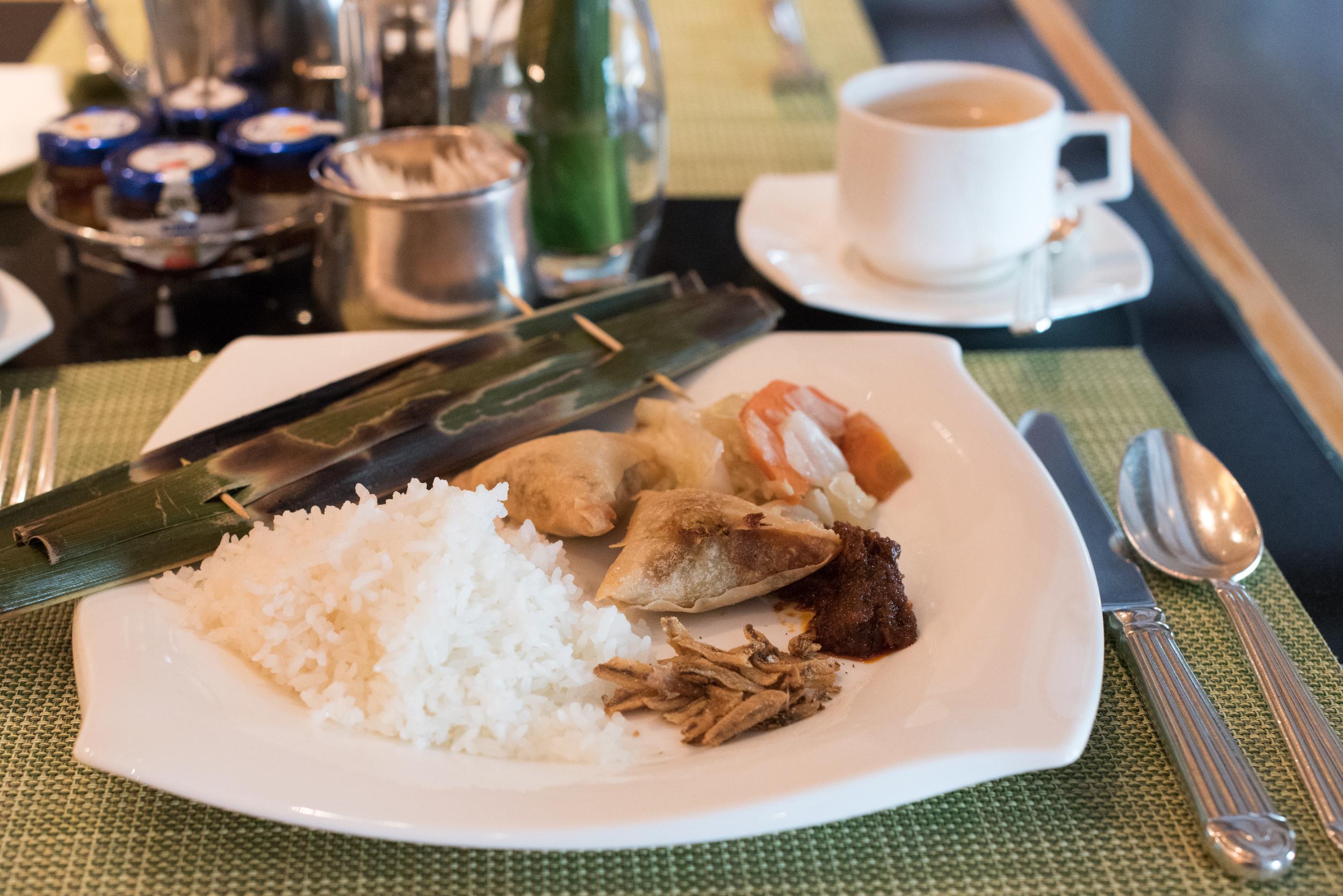Breakfast at Oscar's  Conrad Centennial Singapore