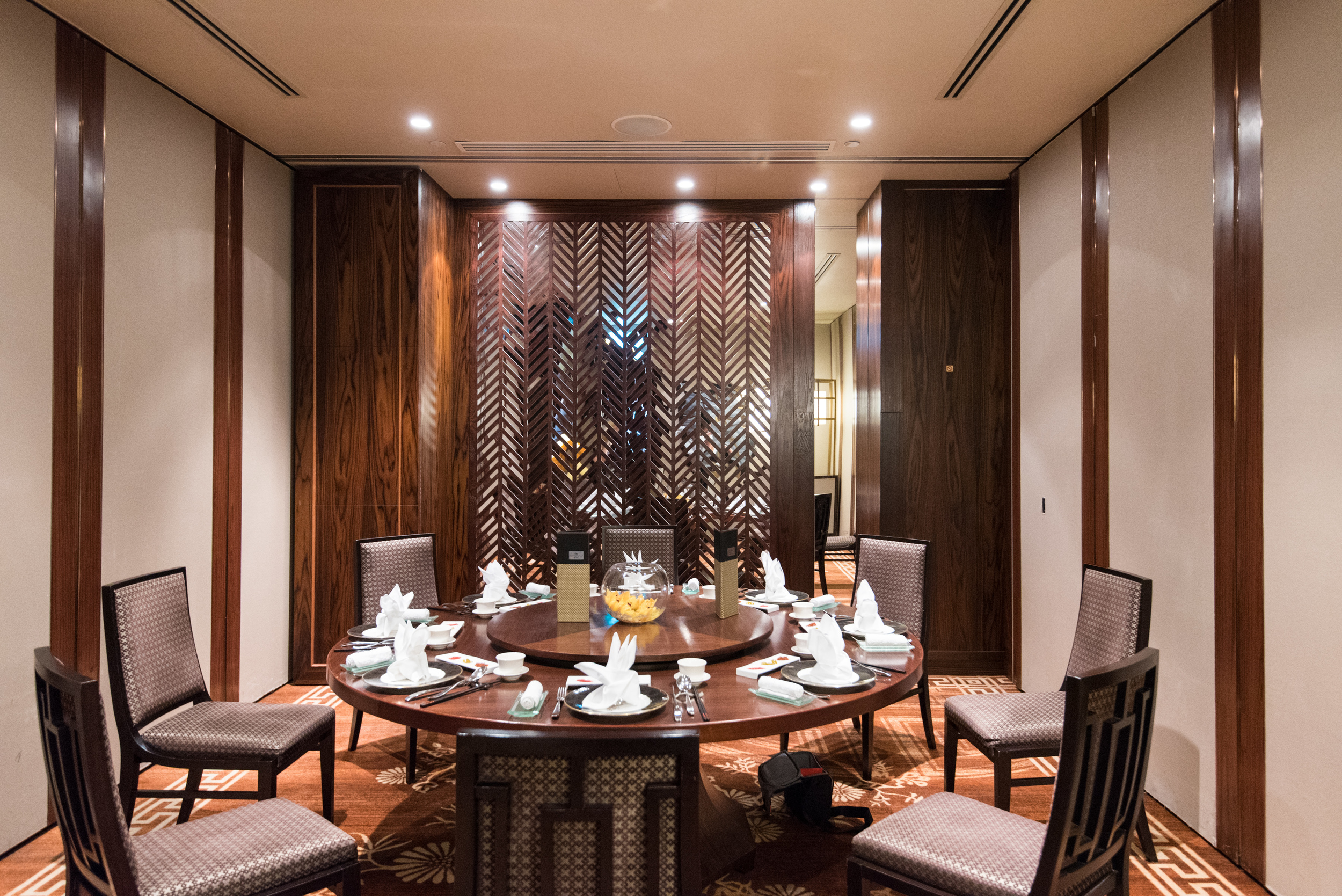 Private Dining Room  Hai Tien Lo - Pan Pacific Singapore