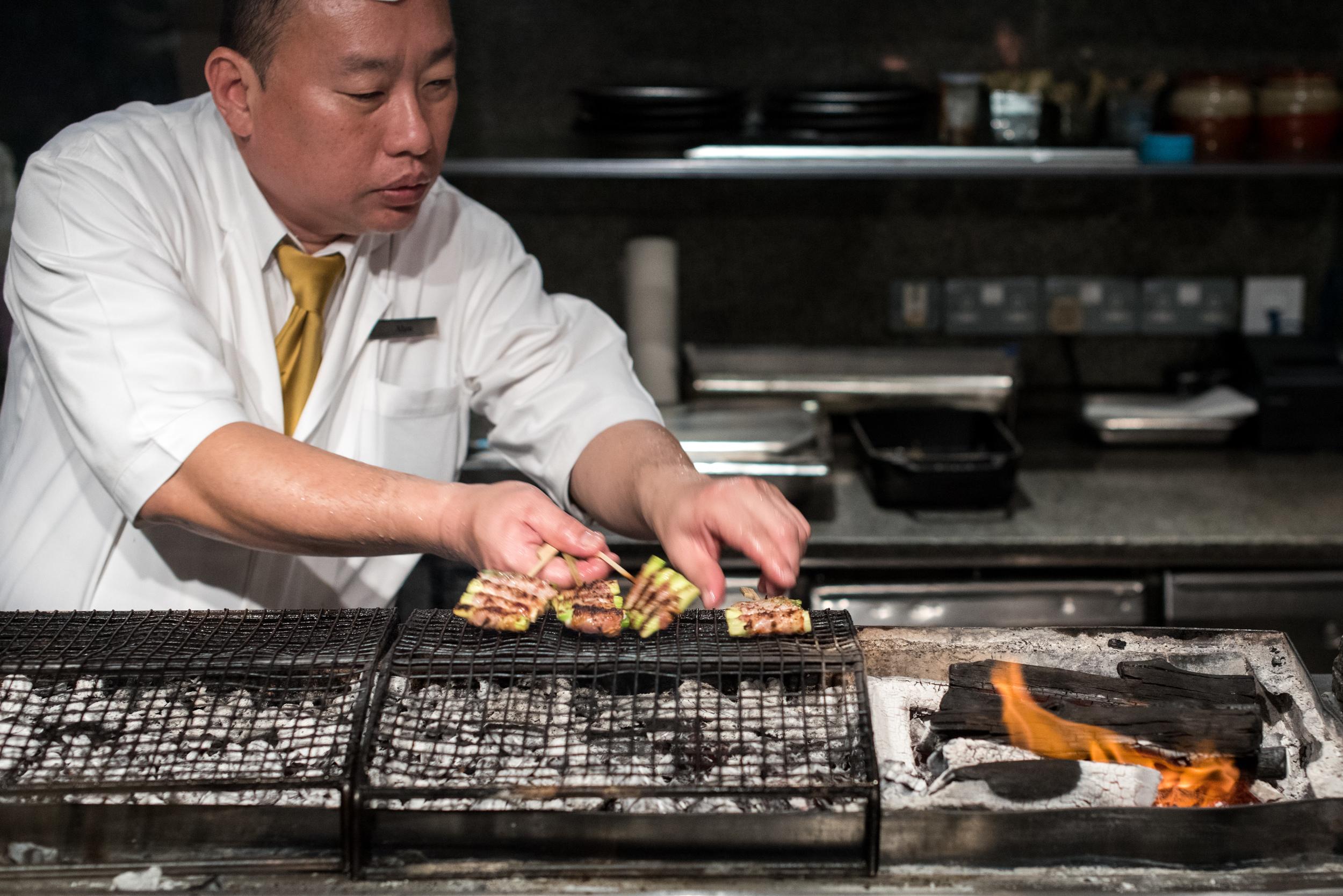 Yakitori Grill  Mezza9 (Sunday Brunch) - Grand Hyatt Singapore