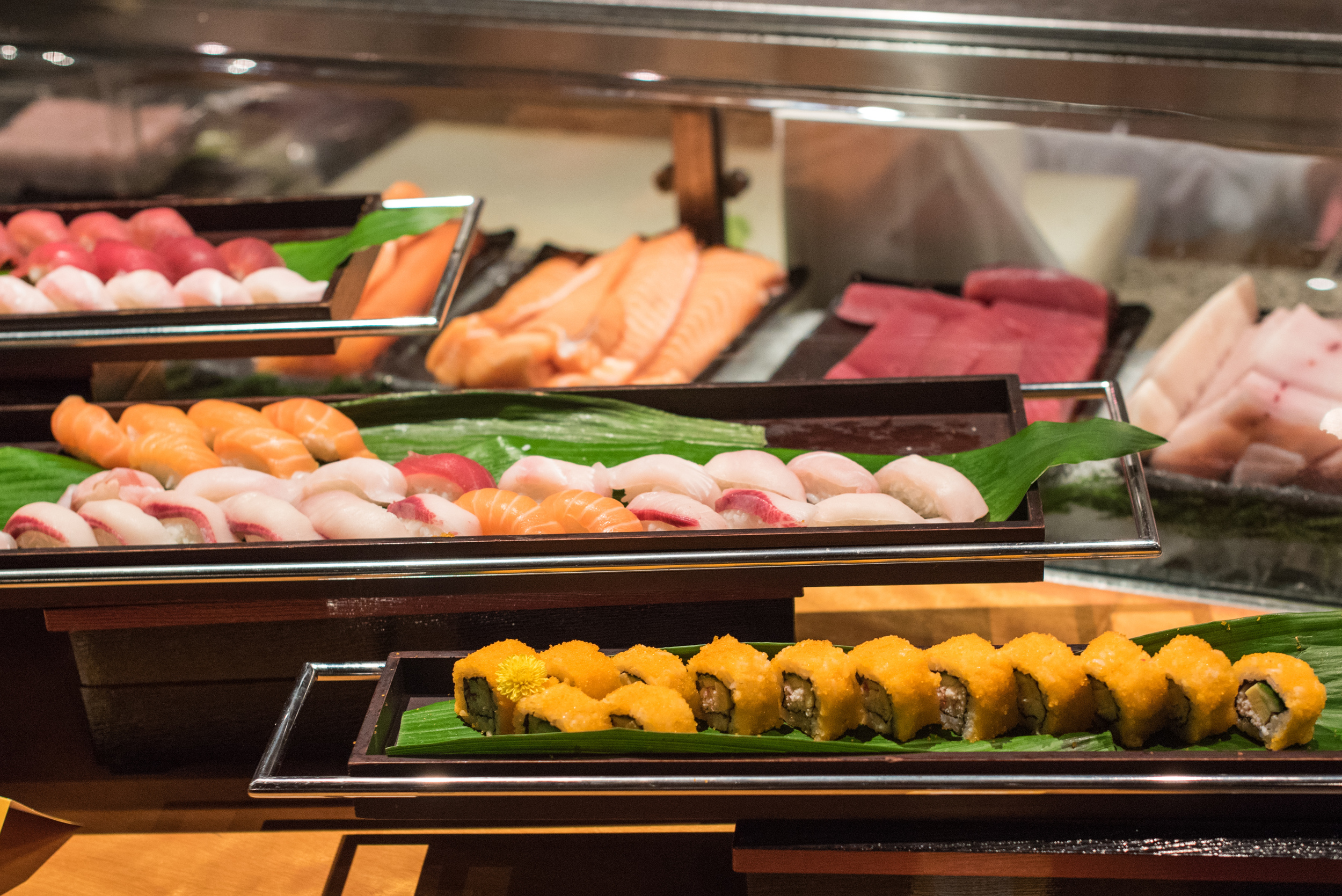 Sushi and Sashimi Bar  Mezza9 (Sunday Brunch) - Grand Hyatt Singapore