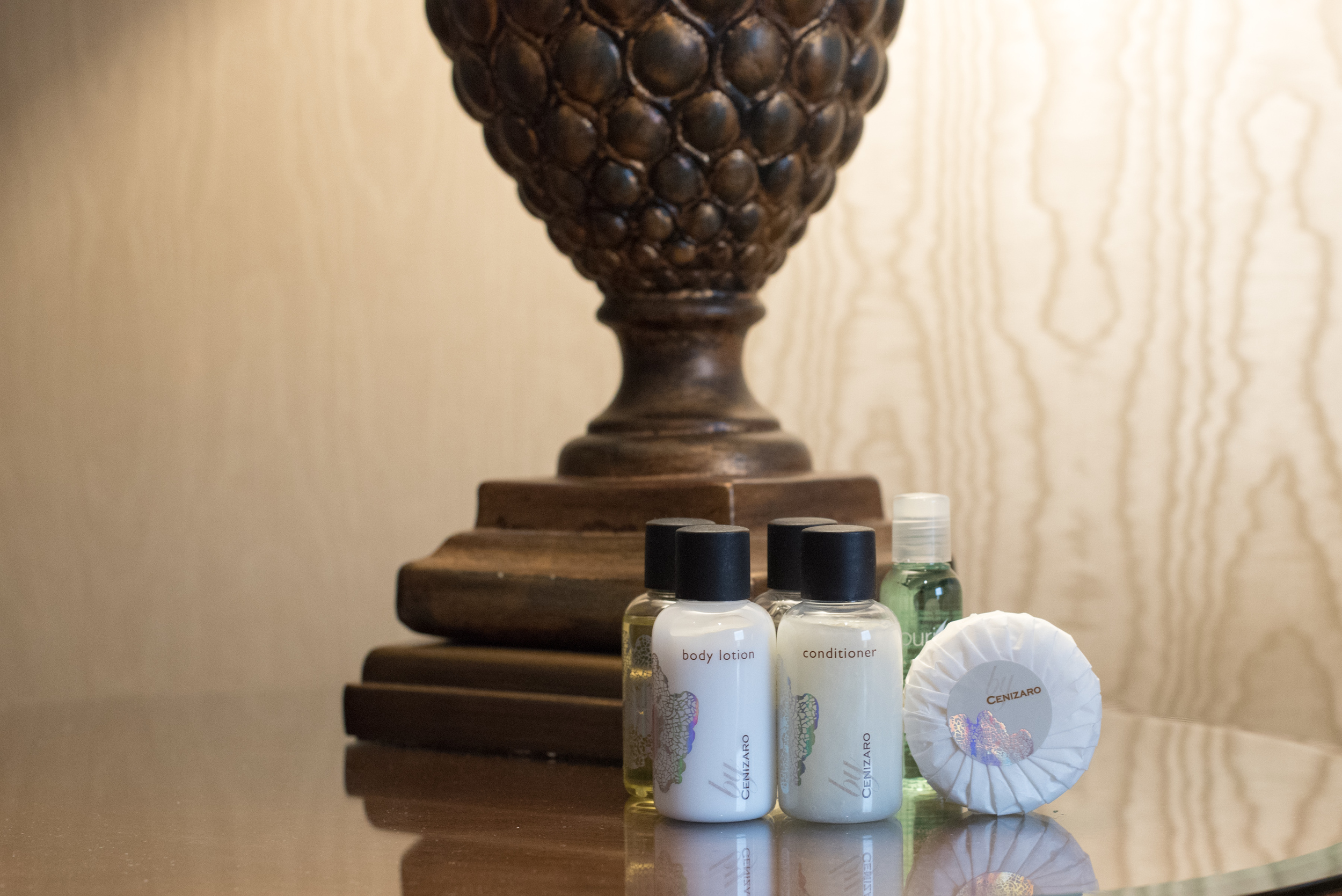 Bathroom Amenities  Executive Suite - Sheraton Towers Singapore