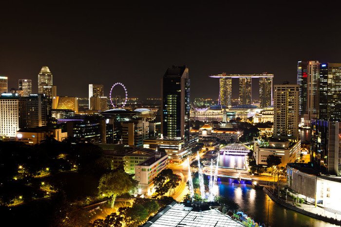 View from the Premier Lounge | Photo Credit: Novotel Singapore Clarke Quay