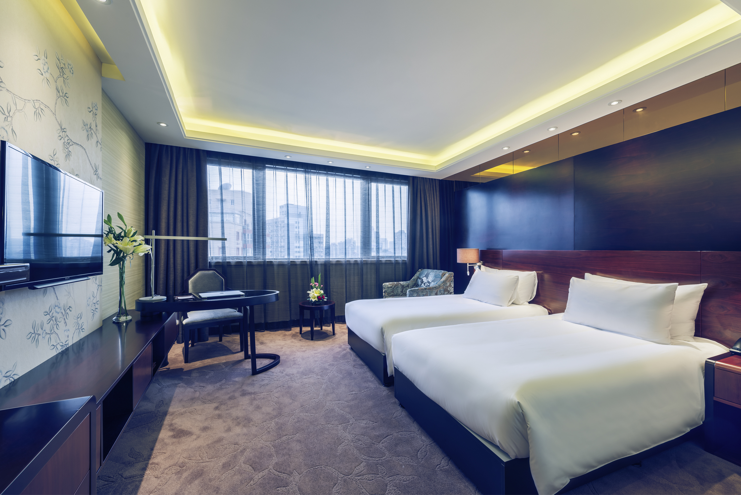 Guest Rooms | Photo Credit:  Mercure Shanghai Royalton