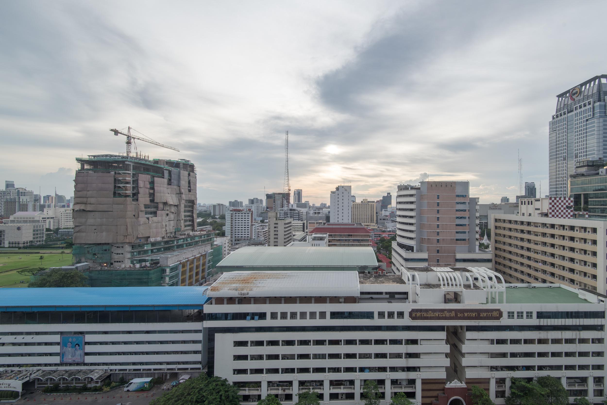 View from the Room - Club View King  Grand Hyatt Erawan Bangkok