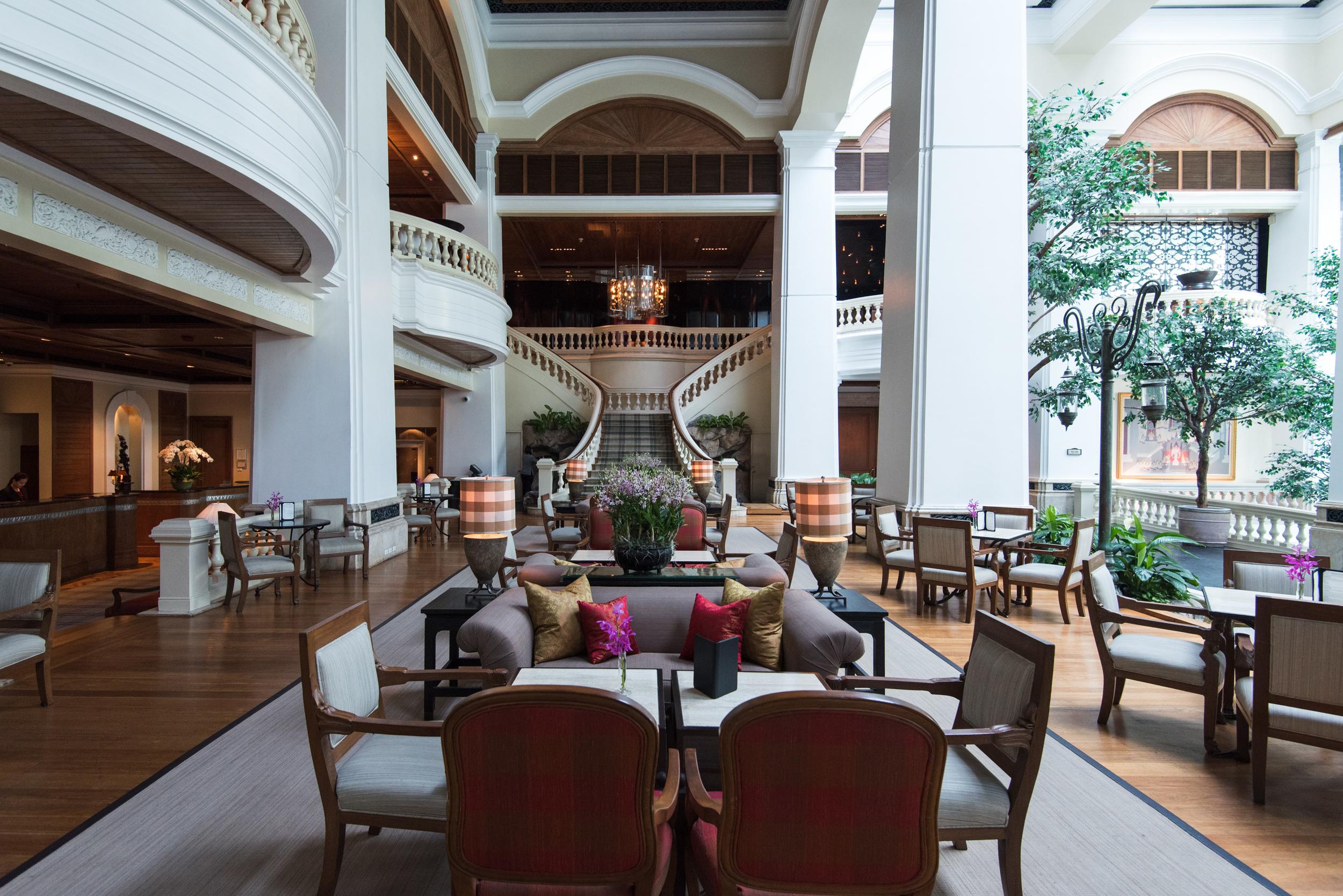 The Garden Lounge   Grand Hyatt Erawan Bangkok
