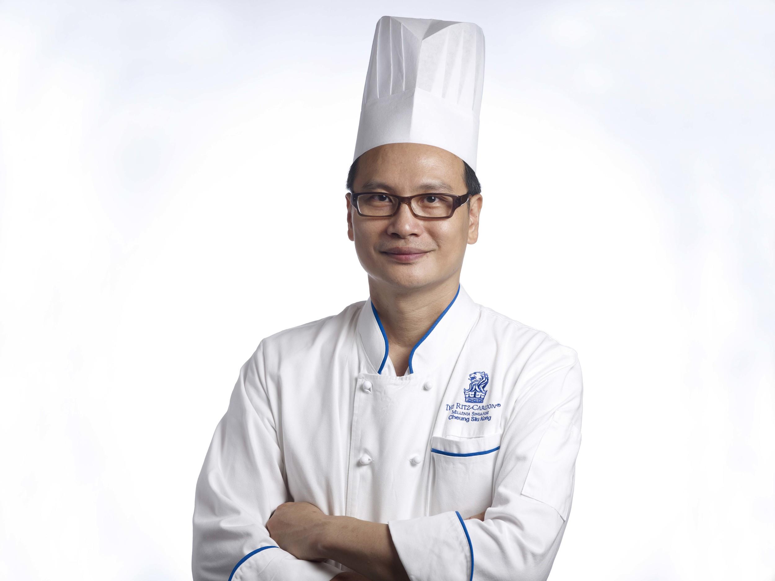 Executive Chinese Chef Cheung Siu Kong  | Photo Credit:The Ritz-Carlton, Millenia Singapore  Summer Pavilion - The Ritz-Carlton, Millenia Singapore