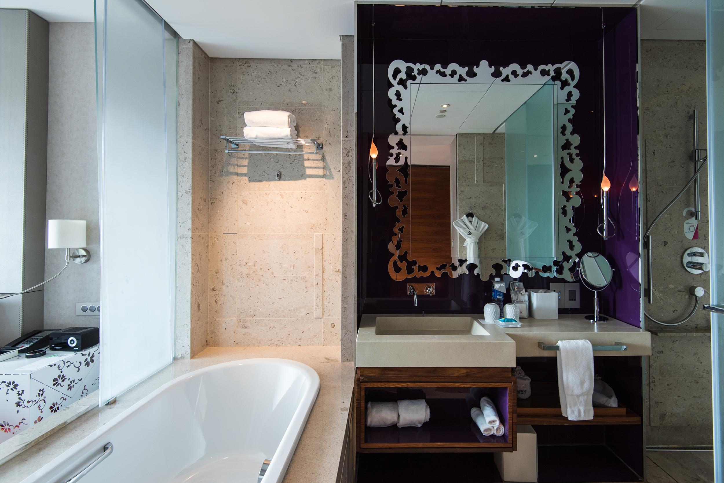 Bathroom - Fabulous Room  W Singapore Sentosa Cove