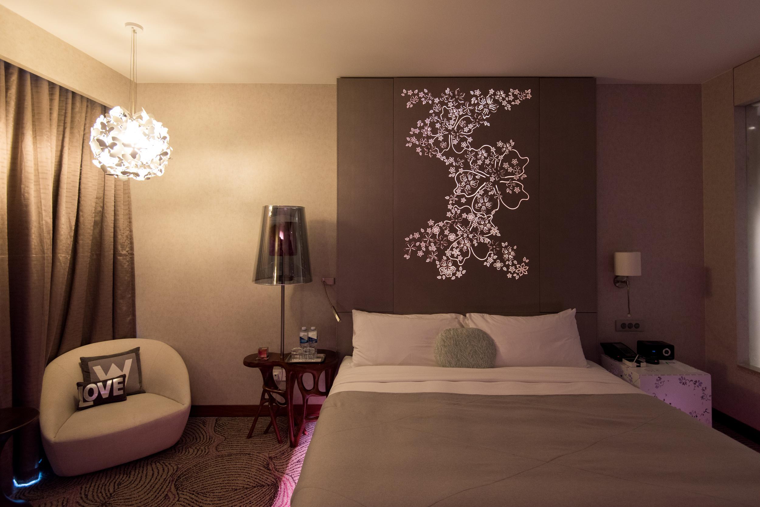 Mood Lighting - Fabulous Room  W Singapore Sentosa Cove