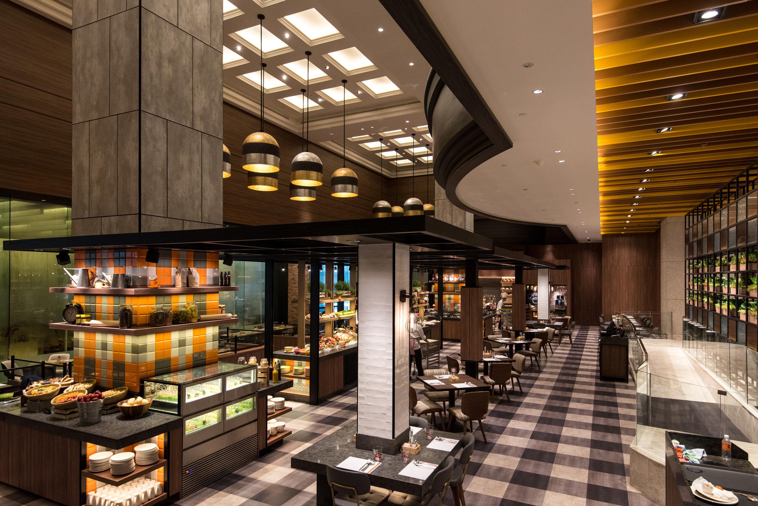 Sunday Brunch  J65 - Hotel Jen Tanglin Singapore