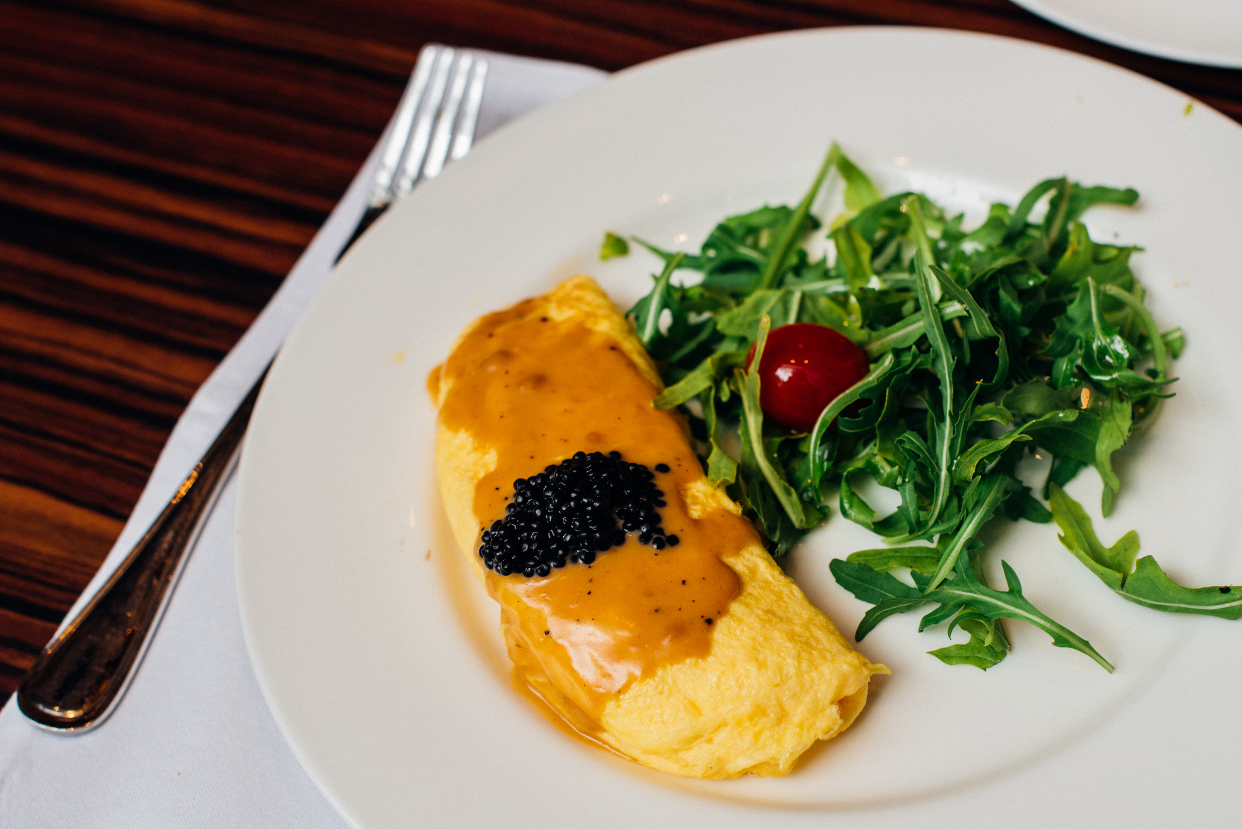 Epicurean Omelette - Breakfast  Brasserie Les Saveurs - The St. Regis Singapore