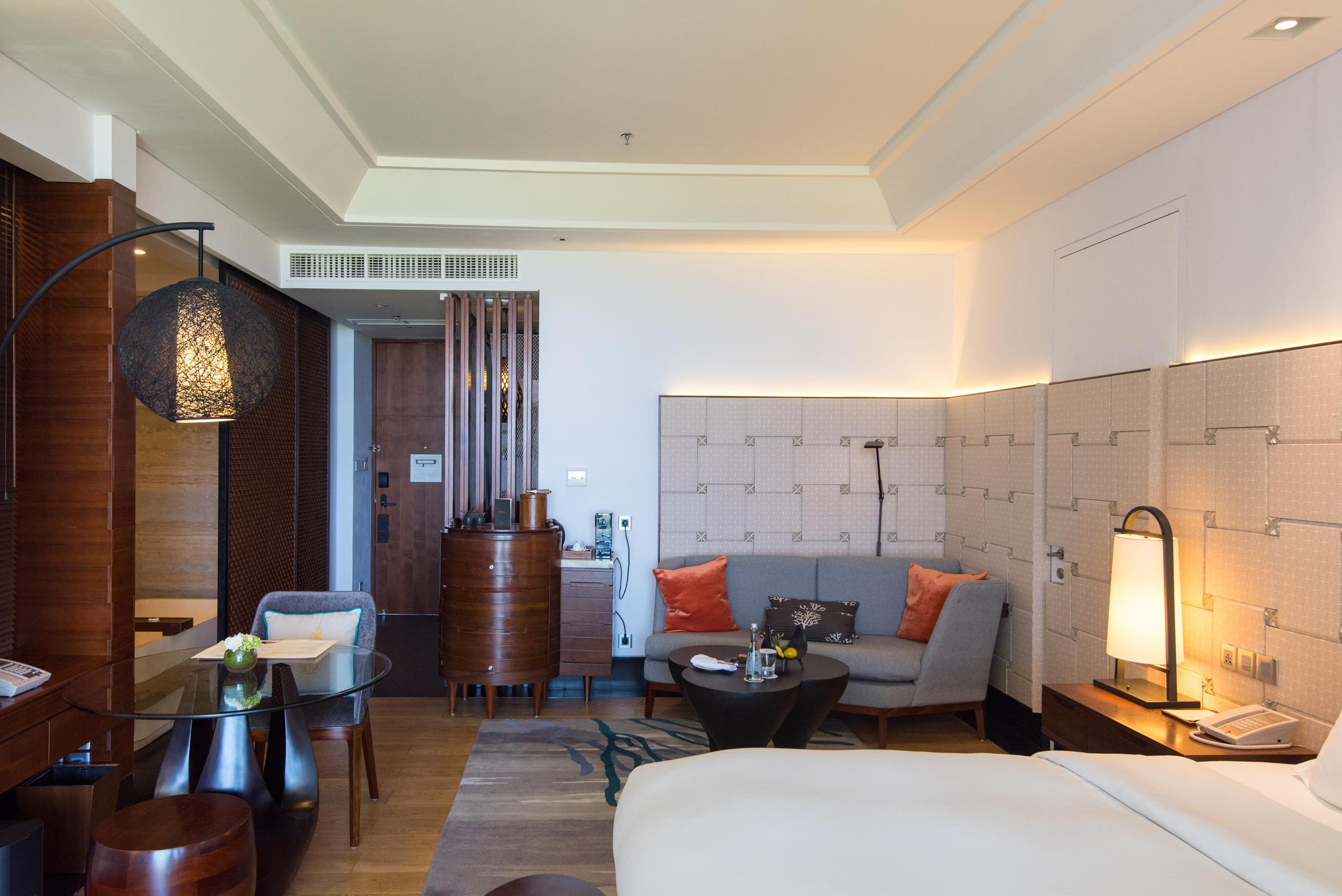 Living Area  Luxury Room - Sofitel Bali Nusa Dua Beach Resort