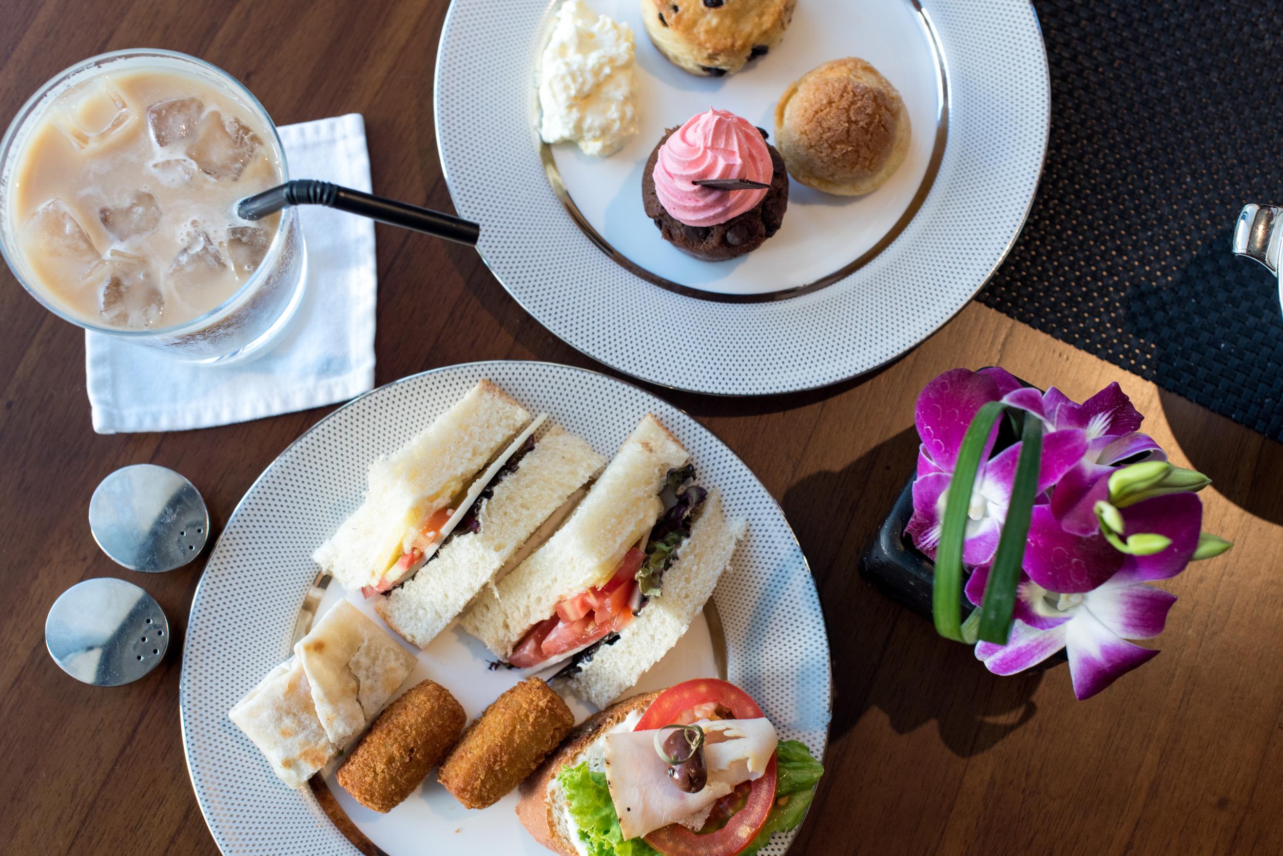 Afternoon Tea  Club Millésime -Sofitel Bali Nusa Dua
