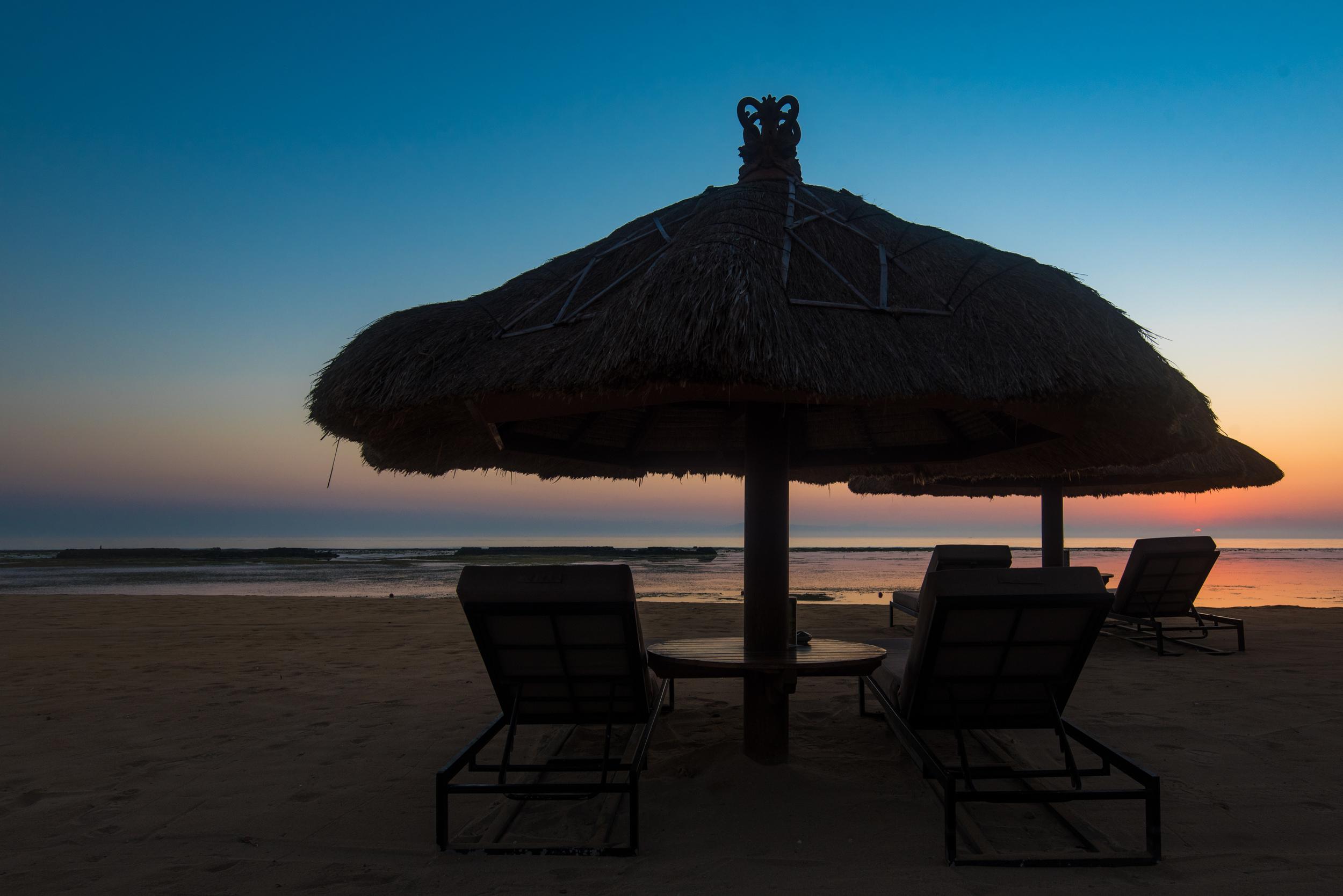 Sunrise at the Beach  Sofitel Bali Nusa Dua Beach Resort