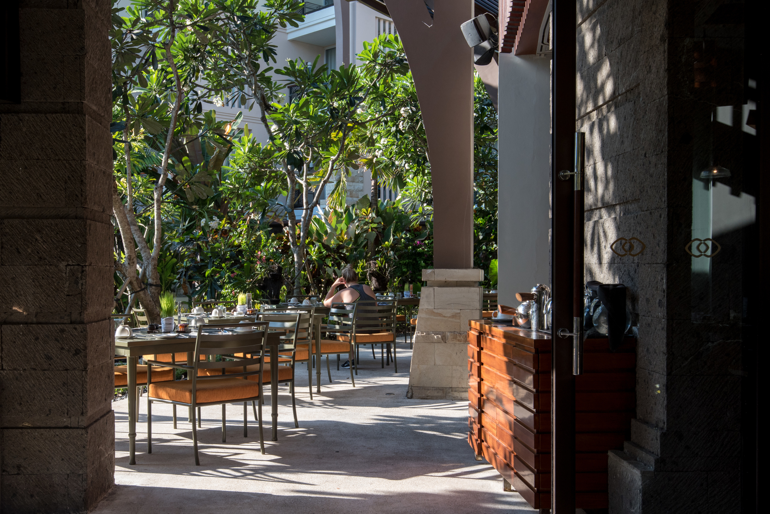 Outdoor Seats   Kwee Zeen - Sofitel Bali Nusa Dua Beach Resort