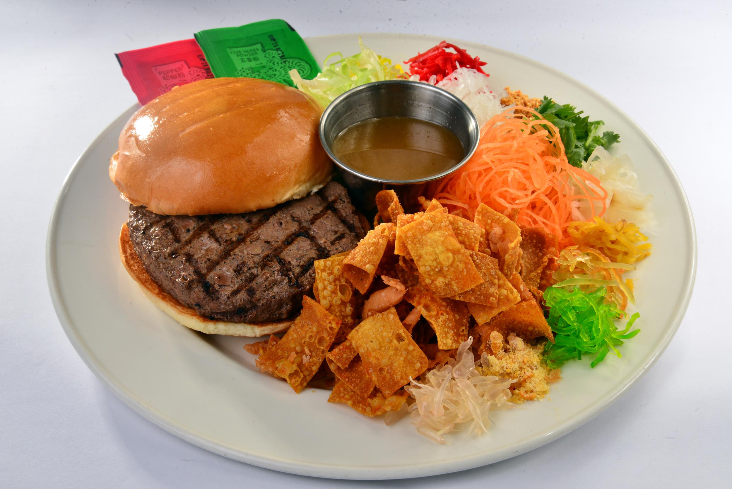 Huat Rock Burger   Photo Credit: Hard Rock Cafe Singapore